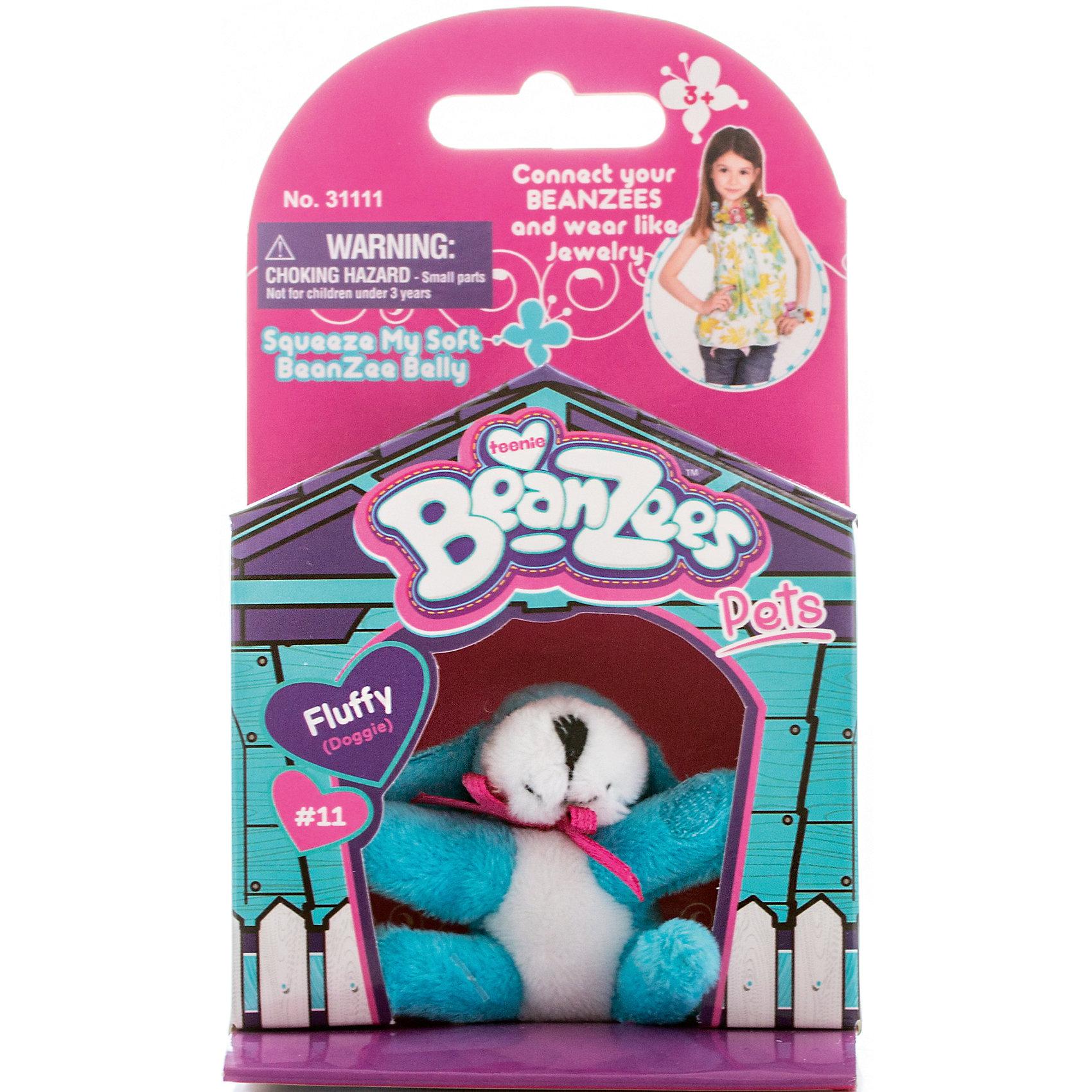 Мини-плюш Голубая собака, BeanzeezМягкие игрушки животные<br>Характеристики товара:<br><br>• цвет: голубой<br>• особенности: наличие на лапках липучек, игрушку можно соединять с другими героями из серии<br>• материал: пластик, текстиль<br>• размер упаковки: 9х5,5х14,5 см.<br>• высота игрушки: 5 см<br>• возраст: от 3 лет<br>• страна бренда: США<br>• страна производства: Китай<br><br>Такая симпатичная игрушка не оставит ребенка равнодушным! Какой малыш откажется поиграть с маленькими плюшевыми игрушками из большой пушистой коллекции?! Игрушки очень качественно выполнены, поэтому такая фигурка станет отличным подарком ребенку. Благодаря липучкам на лапках животных можно соединить между собой. Дети приходят в восторг от этих игрушек!<br>Такие предметы помогают ребенку отрабатывать новые навыки и способности - развивать ловкость, мелкую моторику, воображение, мышление, логику. Изделие производится из качественных сертифицированных материалов, безопасных даже для самых маленьких.<br><br>Мини-плюш Голубая собака от бренда Beanzeez можно купить в нашем интернет-магазине.<br><br>Ширина мм: 50<br>Глубина мм: 140<br>Высота мм: 85<br>Вес г: 73<br>Возраст от месяцев: 36<br>Возраст до месяцев: 2147483647<br>Пол: Женский<br>Возраст: Детский<br>SKU: 5218681