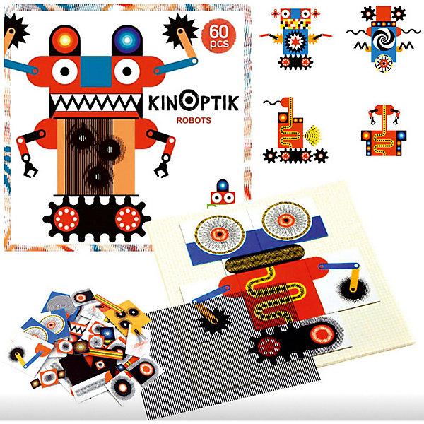 Пазл-аниматор Робот, DJECOПазлы до 24 деталей<br><br>Пазл-аниматор Робот, DJECO (Джеко).<br><br>Характеристика:<br><br>• Материал: картон, магнит, пластик.   <br>• Размер упаковки: 32 х 32 х 5 см.<br>• Размер картинки: 30 х 30 см.<br>• Комплектация: магнитный лист-основа, 2 оптик-листа, 60 частей пазла, инструкция с примерами.<br>• Отдельные детали пазла двигаются. <br>• Развивает моторику рук, внимание и фантазию.<br>• Оригинальный красочный дизайн.<br>• Рекомендован для детей от 5 лет. <br><br>Пазлы-аниматоры Киноптик от французского бренда Джеко приведут в восторг любого ребенка! С этим чудесным набором дети смогут создать забавных роботов, а затем оживить их! Нужно лишь собрать из деталей картинку, приложить к ней специальный прозрачный лист и провести по нему рукой: веселые роботы оживут и будут двигаться!  <br>Все детали набора выполнены из высококачественных нетоксичных материалов абсолютно безопасных для детей. Игра с пазлом - увлекательное и полезное занятие, развивающее моторику рук, внимание, фантазию и умение работать по инструкции. <br><br>Пазл-аниматор Робот, DJECO (Джеко), можно купить в нашем интернет-магазине.<br>Ширина мм: 320; Глубина мм: 320; Высота мм: 50; Вес г: 1000; Возраст от месяцев: 60; Возраст до месяцев: 2147483647; Пол: Унисекс; Возраст: Детский; SKU: 5218935;