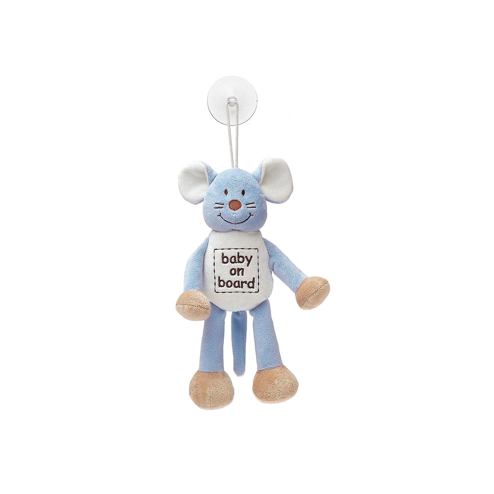 Знак Ребенок в машине Мышь, ДинглисарХарактеристики мягкой игрушки Teddykompaniet: <br><br>• размер игрушки: 24 см;<br>• материал: 100% хлопок (безворсовый велюр);<br>• надпись: baby on board;<br>• серия: Динглисар;<br>• тип крепления: присоска.<br><br>Игрушка-знак «Мышь» символизирует водителям: ребенок в машине. Мягкая игрушка-подвеска крепится к стеклу автомобиля с помощью присоски. Игрушка выполнена из гипоаллергенного материала, внутри мягкий наполнитель. <br><br>Знак Ребенок в машине Мышь, Динглисар можно купить в нашем интернет-магазине.<br><br>Ширина мм: 50<br>Глубина мм: 100<br>Высота мм: 100<br>Вес г: 20<br>Возраст от месяцев: 0<br>Возраст до месяцев: 12<br>Пол: Унисекс<br>Возраст: Детский<br>SKU: 5219508