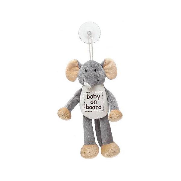 Знак Ребенок в машине Слон, ДинглисарАксессуары для автокресел<br>Характеристики мягкой игрушки Teddykompaniet: <br><br>• размер игрушки: 24 см;<br>• материал: 100% хлопок (безворсовый велюр);<br>• надпись: baby on board;<br>• серия: Динглисар;<br>• тип крепления: присоска.<br><br>Игрушка-знак «Слон» символизирует водителям: ребенок в машине. Мягкая игрушка-подвеска крепится к стеклу автомобиля с помощью присоски. Игрушка выполнена из гипоаллергенного материала, внутри мягкий наполнитель. <br><br>Знак Ребенок в машине Слон, Динглисар можно купить в нашем интернет-магазине.<br><br>Ширина мм: 50<br>Глубина мм: 100<br>Высота мм: 100<br>Вес г: 20<br>Возраст от месяцев: 0<br>Возраст до месяцев: 12<br>Пол: Унисекс<br>Возраст: Детский<br>SKU: 5219509