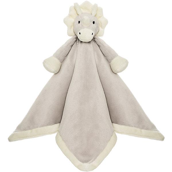 Игрушка-салфетка Динозавр, ДинглисарМягкие игрушки животные<br>Характеристики мягкой игрушки Teddykompaniet: <br><br>• размер салфетки: 35х35 см;<br>• материал: 100% хлопок (безворсовый велюр);<br>• серия: Динглисар.<br><br>Мягкая велюровая салфетка для малышей декорирована объемной мордочкой динозаврика, которая находится в центре салфетки. Малыш теребит салфетку в ручках, прикосновения к мягкому велюровому материалу развивают тактильное восприятие крохи. Салфетка хорошо впитывает влагу, ее можно использовать на этапе прорезывания зубок, когда у малыша обильное слюноотделение. <br><br>В процессе игры развивается мелкая моторика пальчиков, цветовосприятие, тактильное восприятие. <br><br>Игрушку-салфетку Динозавр, Динглисар можно купить в нашем интернет-магазине.<br><br>Ширина мм: 100<br>Глубина мм: 50<br>Высота мм: 100<br>Вес г: 100<br>Возраст от месяцев: 0<br>Возраст до месяцев: 12<br>Пол: Унисекс<br>Возраст: Детский<br>SKU: 5219512