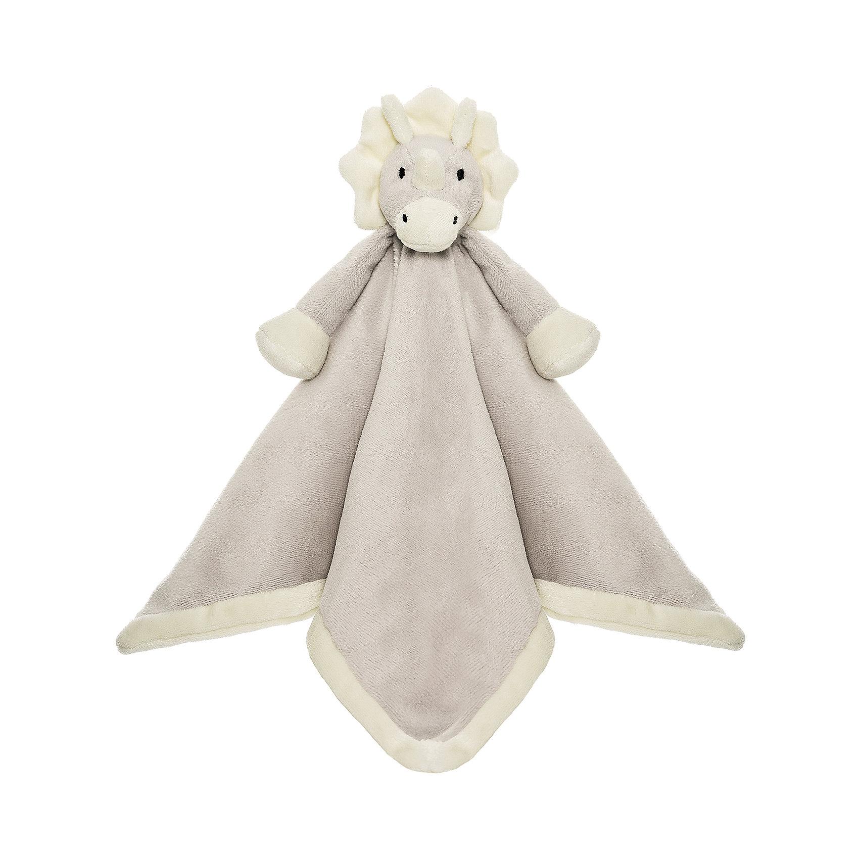 Игрушка-салфетка Динозавр, ДинглисарИгрушки для малышей<br>Характеристики мягкой игрушки Teddykompaniet: <br><br>• размер салфетки: 35х35 см;<br>• материал: 100% хлопок (безворсовый велюр);<br>• серия: Динглисар.<br><br>Мягкая велюровая салфетка для малышей декорирована объемной мордочкой динозаврика, которая находится в центре салфетки. Малыш теребит салфетку в ручках, прикосновения к мягкому велюровому материалу развивают тактильное восприятие крохи. Салфетка хорошо впитывает влагу, ее можно использовать на этапе прорезывания зубок, когда у малыша обильное слюноотделение. <br><br>В процессе игры развивается мелкая моторика пальчиков, цветовосприятие, тактильное восприятие. <br><br>Игрушку-салфетку Динозавр, Динглисар можно купить в нашем интернет-магазине.<br><br>Ширина мм: 100<br>Глубина мм: 50<br>Высота мм: 100<br>Вес г: 100<br>Возраст от месяцев: 0<br>Возраст до месяцев: 12<br>Пол: Унисекс<br>Возраст: Детский<br>SKU: 5219512