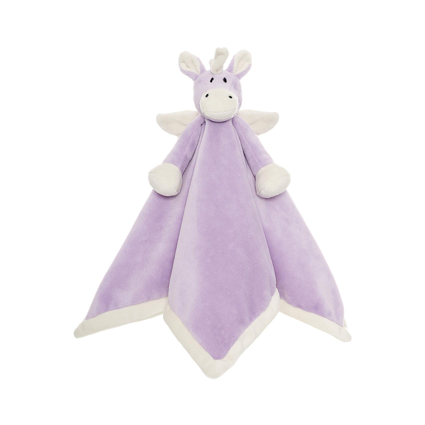 Игрушка-салфетка Единорог, ДинглисарХарактеристики мягкой игрушки Teddykompaniet: <br><br>• размер салфетки: 35х35 см;<br>• материал: 100% хлопок (безворсовый велюр);<br>• серия: Динглисар.<br><br>Мягкая велюровая салфетка для малышей декорирована объемной мордочкой единорога, которая находится в центре салфетки. Малыш теребит салфетку в ручках, прикосновения к мягкому велюровому материалу развивают тактильное восприятие крохи. Салфетка хорошо впитывает влагу, ее можно использовать на этапе прорезывания зубок, когда у малыша обильное слюноотделение. <br><br>В процессе игры развивается мелкая моторика пальчиков, цветовосприятие, тактильное восприятие. <br><br>Игрушку-салфетку Единорог, Динглисар можно купить в нашем интернет-магазине.<br><br>Ширина мм: 100<br>Глубина мм: 50<br>Высота мм: 100<br>Вес г: 100<br>Возраст от месяцев: 0<br>Возраст до месяцев: 12<br>Пол: Женский<br>Возраст: Детский<br>SKU: 5219513