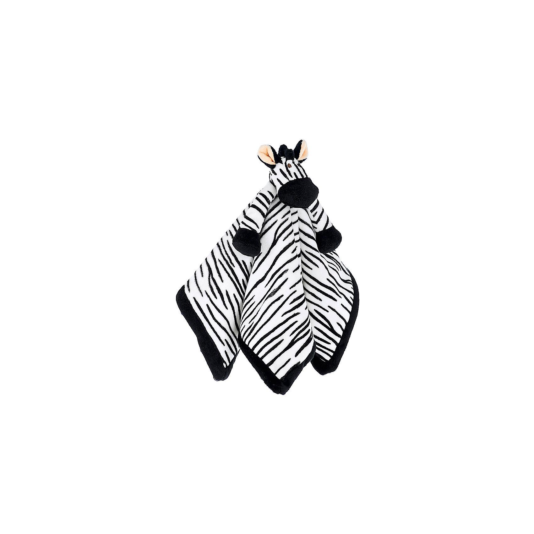 игрушка-салфетка Зебра, ДинглисарИгрушки-платочки<br>Характеристики мягкой игрушки Teddykompaniet: <br><br>• размер салфетки: 35х35 см;<br>• материал: 100% хлопок (безворсовый велюр);<br>• серия: Динглисар.<br><br>Мягкая велюровая салфетка для малышей декорирована объемной мордочкой зебры, которая находится в центре салфетки. Малыш теребит салфетку в ручках, прикосновения к мягкому велюровому материалу развивают тактильное восприятие крохи. Салфетка хорошо впитывает влагу, ее можно использовать на этапе прорезывания зубок, когда у малыша обильное слюноотделение. <br><br>В процессе игры развивается мелкая моторика пальчиков, цветовосприятие, тактильное восприятие. <br><br>Игрушку-салфетку Зебра, Динглисар можно купить в нашем интернет-магазине.<br><br>Ширина мм: 100<br>Глубина мм: 50<br>Высота мм: 100<br>Вес г: 100<br>Возраст от месяцев: 0<br>Возраст до месяцев: 12<br>Пол: Унисекс<br>Возраст: Детский<br>SKU: 5219514