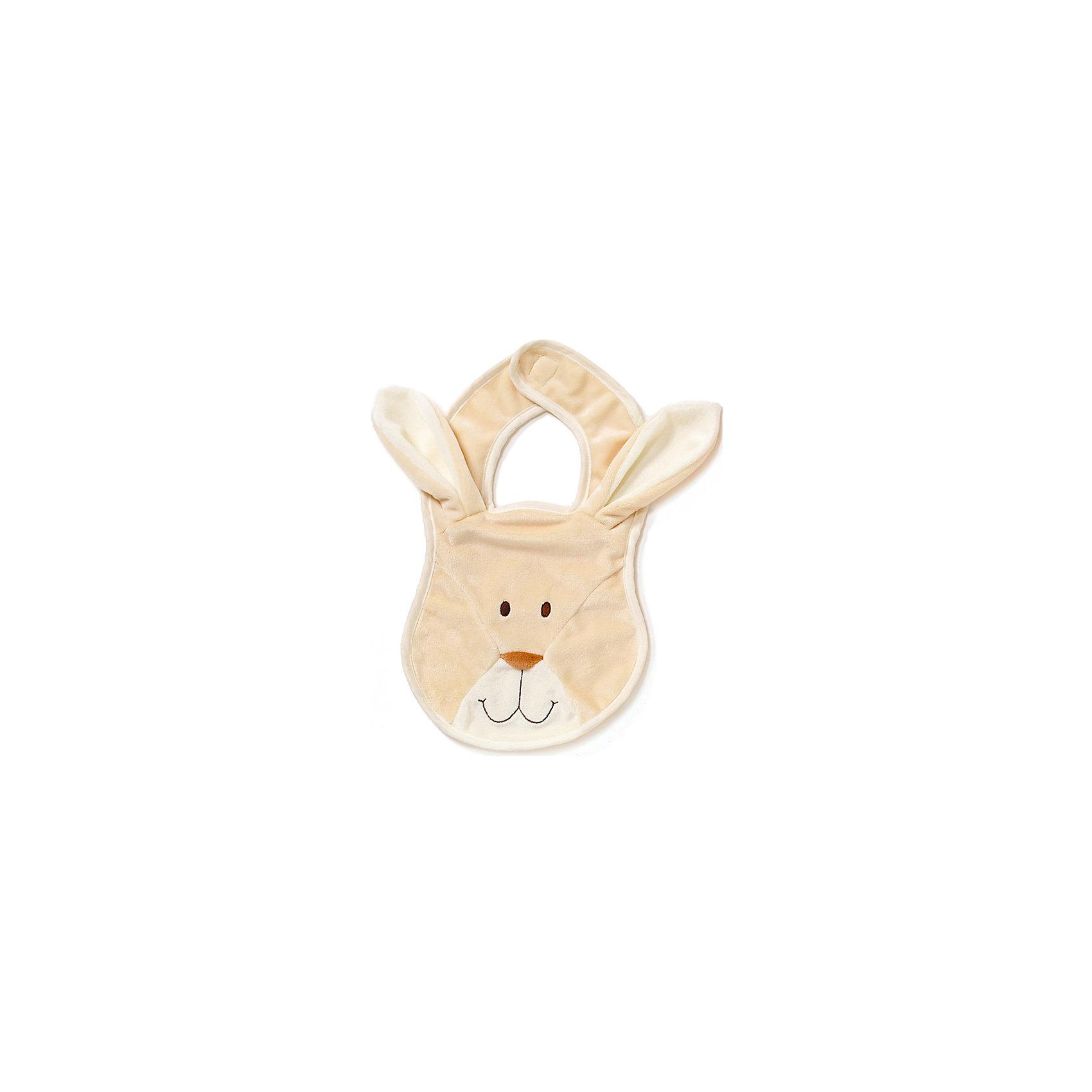 Нагрудник Кролик, ДинглисарХарактеристики нагрудника Teddykompaniet: <br><br>• размер нагрудника: 22 см;<br>• материал: 100% хлопок (безворсовый велюр);<br>• серия: Динглисар;<br>• тип застежки: липучка.<br><br>Аксессуар для кормления «Кролик» с мордочкой забавной зверушки защищает одежду малыша от загрязнений во время приема пищи. На этапе введения прикорма нагрудник Teddykompaniet становится незаменимым другом мамы – проще менять только нагрудник, чем полностью переодевать кроху. Нагрудник с застежкой липучкой, надежно фиксируется. Приятный на ощупь велюровый материал гипоаллергенный, абсолютно безопасен для здоровья ребенка.<br><br>Нагрудник Кролик, Динглисар можно купить в нашем интернет-магазине.<br><br>Ширина мм: 100<br>Глубина мм: 50<br>Высота мм: 100<br>Вес г: 100<br>Возраст от месяцев: 0<br>Возраст до месяцев: 12<br>Пол: Унисекс<br>Возраст: Детский<br>SKU: 5219522