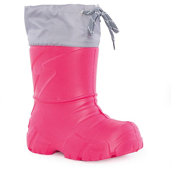 Сапоги для девочки NordmanРезиновые сапоги<br>Характеристики товара:<br><br>• цвет: красный<br>• материал верха: текстиль,  EVA<br>• материал подкладки: мех<br>• материал подошвы:  EVA<br>• подошва не скользит<br>• съемный вкладыш из меха<br>• температурный режим: от -17° до +15° С<br>• верх с утяжкой и стоппером<br>• толстая устойчивая подошва<br>• низ не промокает<br>• страна бренда: Российская Федерация<br>• страна изготовитель: Российская Федерация<br><br>При выборе демисезонной и зимней обуви для ребенка необходимо убедиться, что она удобная и теплая. Такие сапожки обеспечат детям комфорт даже в мороз, а непромокающая нижняя часть  оставит ножки в сухости. Сапожки легко снимаются и надеваются, хорошо сидят на ноге. Внутри - специальная теплая подкладка, с которой холода не страшны!<br>Обувь от бренда Nordman - это качественные российские товары, произведенные с применением как натуральных, так и высокотехнологичных материалов. Обувь выделяется стильным дизайном и проработанными деталями. Полностью адаптирована под российскую погоду! Изделие производится из качественных и проверенных материалов, которые безопасны для детей.<br><br>Сапоги для девочки от бренда Nordman можно купить в нашем интернет-магазине.<br>Ширина мм: 257; Глубина мм: 180; Высота мм: 130; Вес г: 420; Цвет: красный; Возраст от месяцев: 18; Возраст до месяцев: 21; Пол: Женский; Возраст: Детский; Размер: 22/23,32/33,30/31,28/29,24/25,26/27; SKU: 5219783;