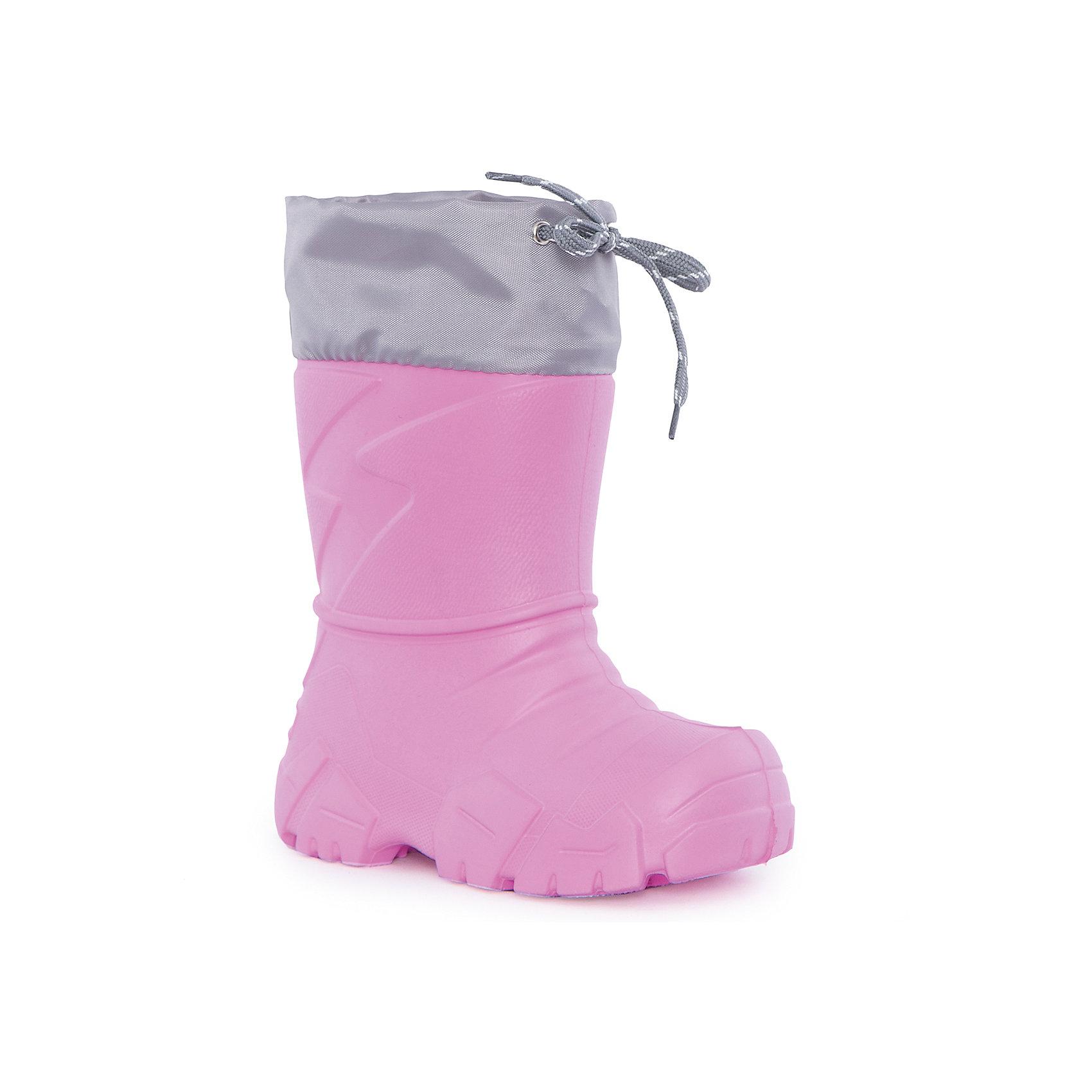 Сапоги для девочки NordmanХарактеристики товара:<br><br>• цвет: розовый<br>• материал верха: текстиль,  EVA<br>• материал подкладки: мех<br>• материал подошвы:  EVA<br>• подошва не скользит<br>• съемный вкладыш из меха<br>• температурный режим: от -17° до +15° С<br>• верх с утяжкой и стоппером<br>• толстая устойчивая подошва<br>• низ не промокает<br>• страна бренда: Российская Федерация<br>• страна изготовитель: Российская Федерация<br><br>При выборе демисезонной и зимней обуви для ребенка необходимо убедиться, что она удобная и теплая. Такие сапожки обеспечат детям комфорт даже в мороз, а непромокающая нижняя часть  оставит ножки в сухости. Сапожки легко снимаются и надеваются, хорошо сидят на ноге. Внутри - специальная теплая подкладка, с которой холода не страшны!<br>Обувь от бренда Nordman - это качественные российские товары, произведенные с применением как натуральных, так и высокотехнологичных материалов. Обувь выделяется стильным дизайном и проработанными деталями. Полностью адаптирована под российскую погоду! Изделие производится из качественных и проверенных материалов, которые безопасны для детей.<br><br>Сапоги для девочки от бренда Nordman можно купить в нашем интернет-магазине.<br><br>Ширина мм: 257<br>Глубина мм: 180<br>Высота мм: 130<br>Вес г: 420<br>Цвет: розовый<br>Возраст от месяцев: 84<br>Возраст до месяцев: 96<br>Пол: Женский<br>Возраст: Детский<br>Размер: 30/31,24/25,26/27<br>SKU: 5219790