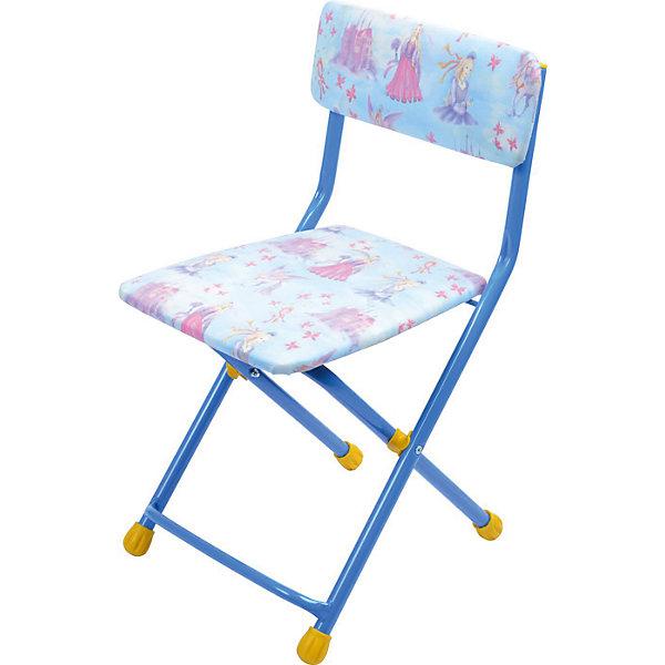 Складной стул с мягким сиденьем КУ1 Барби, Ника, голубойДетские столы и стулья<br>Характеристики товара:<br><br>• цвет: голубой<br>• материал: металл, пластик, текстиль<br>• сиденье: 310х270 мм<br>• высота до сиденья: 320 мм<br>• высота со спинкой 570 мм<br>• на ножках пластмассовые наконечники<br>• складной<br>• на сиденье мягкая обивка из флока <br>• возраст: от 3 до 7 лет<br>• страна бренда: Российская Федерация<br>• страна производства: Российская Федерация<br><br>Детская мебель может быть удобной и эргономичной! Этот стул разработан специально для детей от трех до семи лет. Он легко складывается и раскладывается, занимает немного места. Сиденье обито мягким флоком, а на ножках стула установлены пластмассовые наконечники для защиты напольного покрытия. Отличное решение для игр, творчества и обучения!<br>Правильно подобранная мебель помогает ребенку расти здоровым, формироваться правильной осанке. Изделие производится из качественных сертифицированных материалов, безопасных даже для самых маленьких.<br><br>Складной стул с мягким сиденьем КУ1 Барби, голубой от бренда Ника можно купить в нашем интернет-магазине.<br>Ширина мм: 700; Глубина мм: 160; Высота мм: 330; Вес г: 2520; Возраст от месяцев: 36; Возраст до месяцев: 84; Пол: Женский; Возраст: Детский; SKU: 5223590;