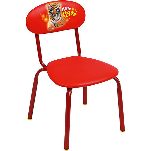 Стул СТУ5 . Маленький тигр, Ника, красныйДетские столы и стулья<br>Характеристики товара:<br><br>• цвет: красный<br>• материал: металл окрашенный, фанера, поролон, пластмасса, ткань (замша) или винилискожа<br>• мягкое сиденье и спинка<br>• яркая расцветка<br>• устойчивый<br>• на спинке рисунок<br>• возраст: от 1,5 до 3 лет<br>• страна бренда: Российская Федерация<br>• страна производства: Российская Федерация<br><br>Детская мебель может быть удобной и эргономичной! Этот стул разработан специально для детей от полутора до трех лет. Он устойчивый, занимает немного места. Сиденье обито мягким материалом, а на спинке стула - яркий рисунок, который понравится малышам. Отличное решение для игр, творчества и развивающих занятий!<br>Правильно подобранная мебель помогает ребенку расти здоровым, формироваться правильной осанке. Изделие производится из качественных сертифицированных материалов, безопасных даже для самых маленьких.<br><br>Стул Маленький тигр, красный от бренда Ника можно купить в нашем интернет-магазине.<br><br>Ширина мм: 350<br>Глубина мм: 545<br>Высота мм: 320<br>Вес г: 1900<br>Возраст от месяцев: 180<br>Возраст до месяцев: 36<br>Пол: Унисекс<br>Возраст: Детский<br>SKU: 5223599
