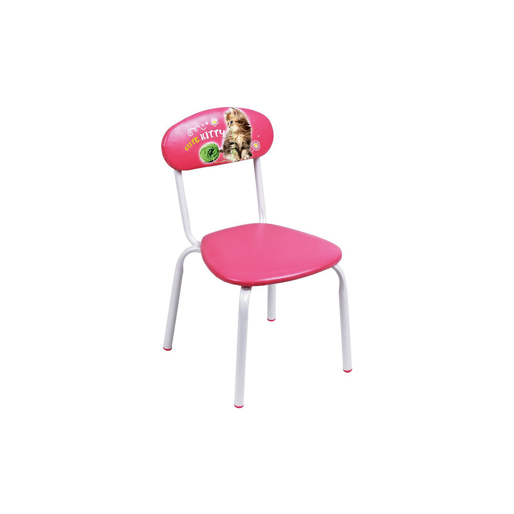 Стул СТУ5 . Милый котенок, Ника, розовыйСтолы и стулья<br>Характеристики товара:<br><br>• цвет: розовый<br>• материал: металл окрашенный, фанера, поролон, пластмасса, ткань (замша) или винилискожа<br>• мягкое сиденье и спинка<br>• яркая расцветка<br>• устойчивый<br>• на спинке рисунок<br>• возраст: от 1,5 до 3 лет<br>• страна бренда: Российская Федерация<br>• страна производства: Российская Федерация<br><br>Детская мебель может быть удобной и эргономичной! Этот стул разработан специально для детей от полутора до трех лет. Он устойчивый, занимает немного места. Сиденье обито мягким материалом, а на спинке стула - яркий рисунок, который понравится малышам. Отличное решение для игр, творчества и развивающих занятий!<br>Правильно подобранная мебель помогает ребенку расти здоровым, формироваться правильной осанке. Изделие производится из качественных сертифицированных материалов, безопасных даже для самых маленьких.<br><br>Стул Милый котенок, розовый от бренда Ника можно купить в нашем интернет-магазине.<br><br>Ширина мм: 350<br>Глубина мм: 545<br>Высота мм: 320<br>Вес г: 1900<br>Возраст от месяцев: 180<br>Возраст до месяцев: 36<br>Пол: Женский<br>Возраст: Детский<br>SKU: 5223601