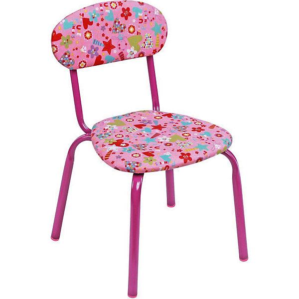 Стул СТУ5. Сердечки, Ника, розовыйДетские столы и стулья<br>Характеристики товара:<br><br>• цвет: розовый <br>• материал: металл окрашенный, фанера, поролон, пластмасса, ткань (замша) или винилискожа<br>• мягкое сиденье и спинка<br>• яркая расцветка<br>• устойчивый<br>• на обивке рисунок<br>• возраст: от 1,5 до 3 лет<br>• страна бренда: Российская Федерация<br>• страна производства: Российская Федерация<br><br>Детская мебель может быть удобной и эргономичной! Этот стул разработан специально для детей от полутора до трех лет. Он устойчивый, занимает немного места. Сиденье обито мягким материалом, а на обивке стула - яркий рисунок, который понравится малышам. Отличное решение для игр, творчества и развивающих занятий!<br>Правильно подобранная мебель помогает ребенку расти здоровым, формироваться правильной осанке. Изделие производится из качественных сертифицированных материалов, безопасных даже для самых маленьких.<br><br>Стул Сердечки, розовый от бренда Ника можно купить в нашем интернет-магазине.<br><br>Ширина мм: 350<br>Глубина мм: 545<br>Высота мм: 320<br>Вес г: 1900<br>Возраст от месяцев: 180<br>Возраст до месяцев: 36<br>Пол: Женский<br>Возраст: Детский<br>SKU: 5223603