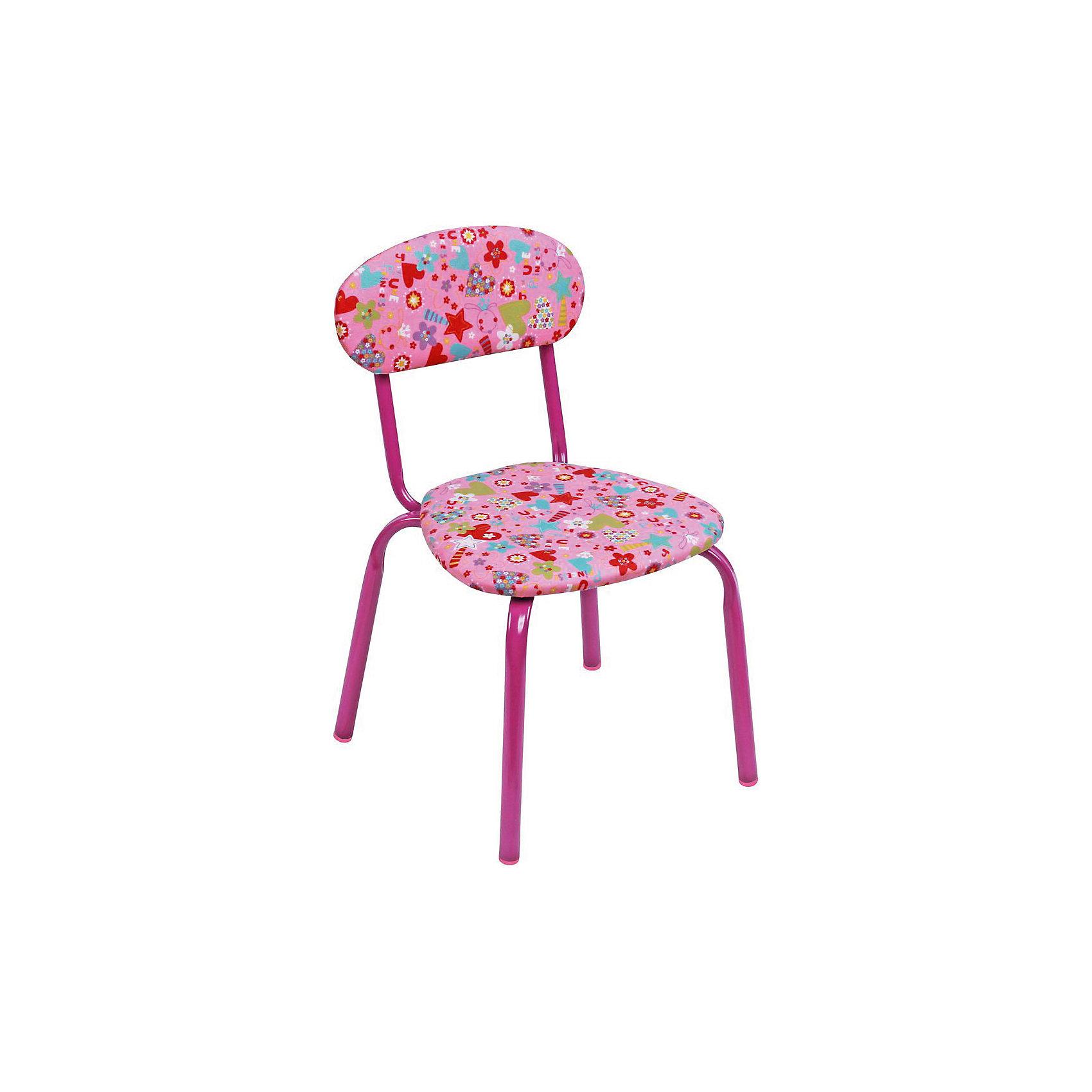 Ника Стул СТУ5. Сердечки, Ника, розовый ника голубой складной стул сердечки