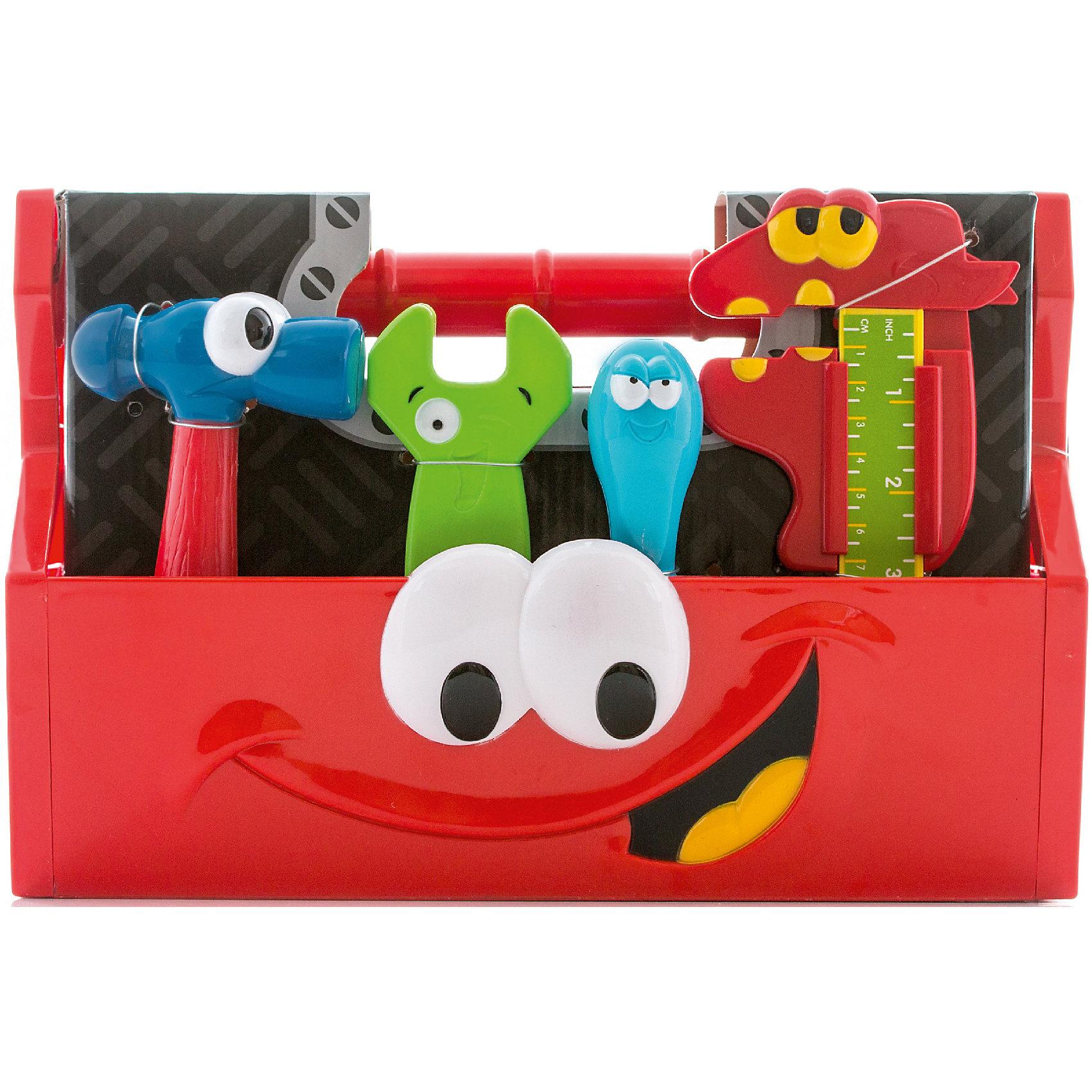 Инструментов из 14 шт в коробке, BoleyХарактеристики товара:<br><br>• размер: 30х18х20 см<br>• комплектация: 14 инструментов, коробка<br>• материал: пластик<br>• вес: 800 г<br>• страна бренда: США<br>• страна производства: Китай<br><br>Игровой набор из безопасных инструментов, которые похожи на настоящие, - отличный подарок для ребенка! Мальчики стараются копировать поведение взрослых - это помогает им многому научиться. Чтобы ребенок мог безопасно и весело играть - вручите ему такие инструменты. Они легкие и яркие!<br>Такая игра помогает ребенку развиваться физически, нарабатывать новые навыки и способности - ловкость, быструю реакцию, моторику, а также активизирует процессы мышления. Изделие производится из качественных сертифицированных материалов, безопасных даже для самых маленьких.<br><br>Игровой набор инструментов из 14 шт в коробке от бренда Boley можно купить в нашем интернет-магазине.<br><br>Ширина мм: 300<br>Глубина мм: 210<br>Высота мм: 180<br>Вес г: 832<br>Возраст от месяцев: 36<br>Возраст до месяцев: 2147483647<br>Пол: Мужской<br>Возраст: Детский<br>SKU: 5224448