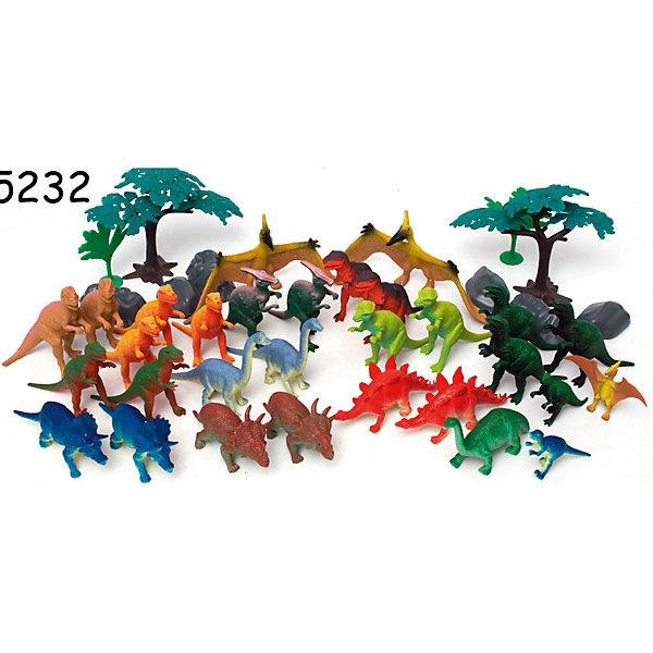 Игровой набор Динозавры, 40 предметов, BoleyИгровые фигурки животных<br>Характеристики товара:<br><br>• размер: 15х15х21 см<br>• комплектация: 40 фигурок<br>• материал: пластик<br>• вес: 700 г<br>• страна бренда: США<br>• страна производства: Китай<br><br>Игровой набор из двадцати фигурок разных динозавров - отличный подарок для ребенка! Дети, как правило, очень их любят. Чтобы ребенок мог безопасно и весело играть - вручите ему такие фигурки. Они отлично детализированы и помогут малышам начать изучать древний животный мир.<br>Такая игра помогает ребенку нарабатывать новые знания, навыки и способности - развивает мелкую моторику, а также активизирует процессы мышления. Изделие производится из качественных сертифицированных материалов, безопасных даже для самых маленьких.<br><br>Игровой набор Динозавры, 40 предметов, от бренда Boley можно купить в нашем интернет-магазине.<br>Ширина мм: 150; Глубина мм: 210; Высота мм: 150; Вес г: 705; Возраст от месяцев: 36; Возраст до месяцев: 2147483647; Пол: Мужской; Возраст: Детский; SKU: 5224454;