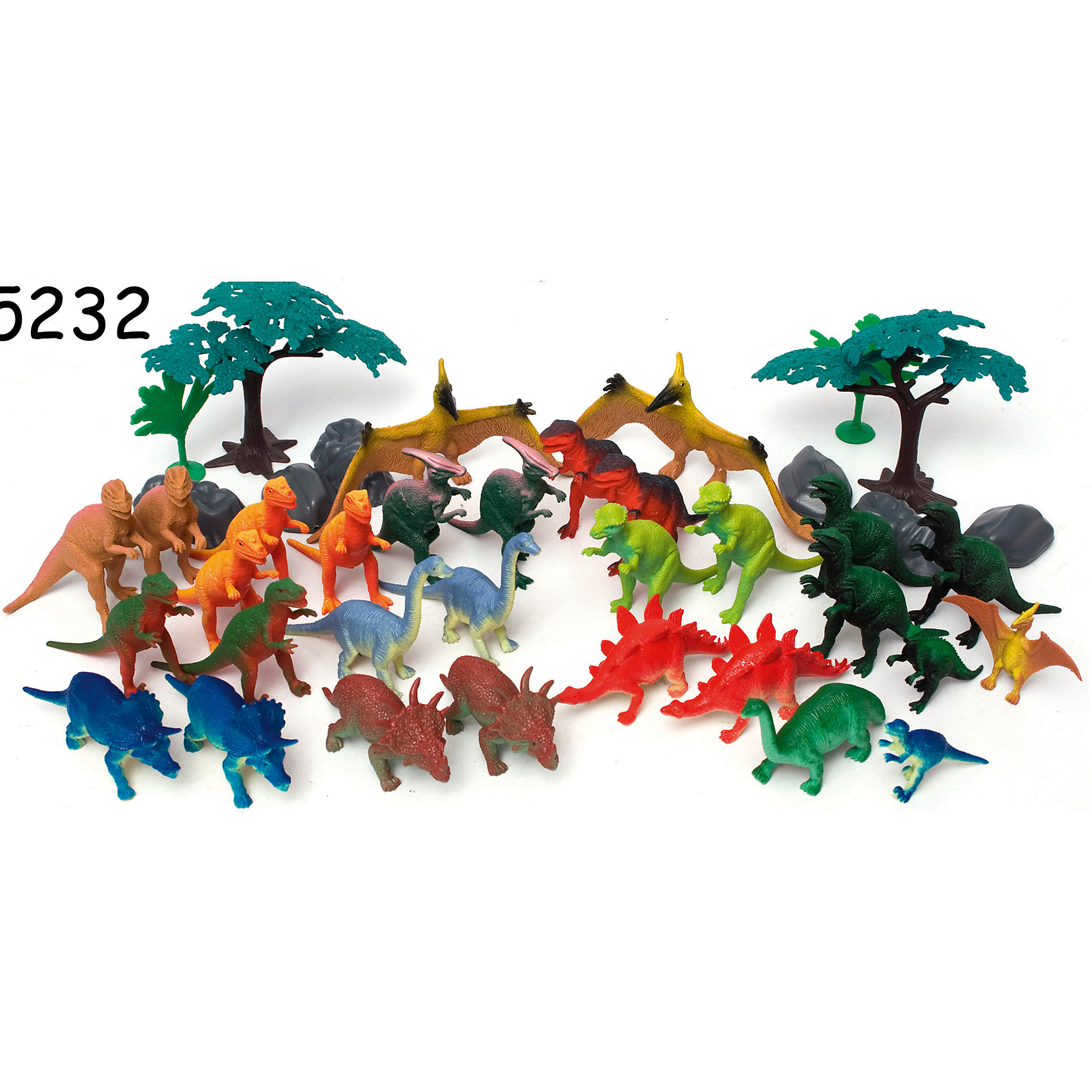 Boley Игровой набор Динозавры, 40 предметов, Boley boley игровой набор из 3 х предметов серия софия прекрасная 82527