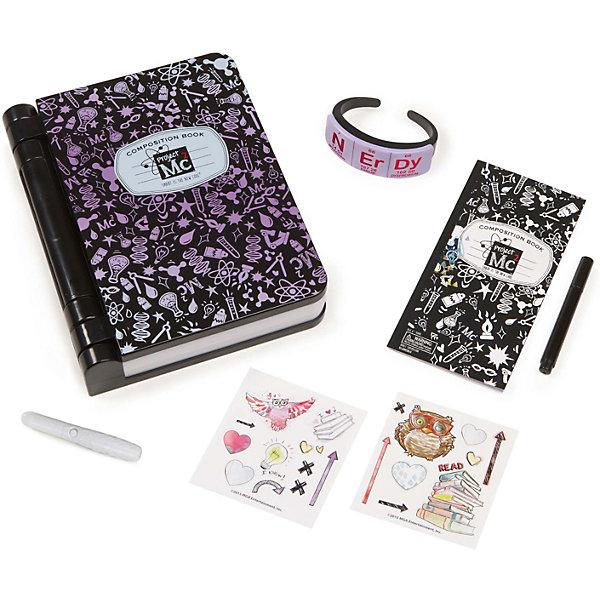 Секретный дневник, Project MС2Другие наборы<br>Характеристики товара:<br><br>• размер упаковки: 29х26 x 6 см<br>• материал: бумага, картон, пластик, металл<br>• комплектация: дневник, браслет, ручка, буклет, набор наклеек, фонарик<br>• батарейки: 3хAA/LR6 1.5V (не входят в комплект)<br>• возраст: от шести лет<br>• страна бренда: США<br>• страна производства: Китай<br><br>Секретный дневник - желанный подарок для ребенка! Чтобы открыть его нужен секретный браслет (или булавка), при этом звучит мелодия. Также в наборе - буклет с интересными играми, ручка с невидимыми чернилами, фонарик с ультрафиолетом для прочтения невидимых чернил. Дневник вмещает iPhone или предмет аналогичного размера, он интерактивен и совместим с любым смартфоном через приложение на сайте. Комплект очень качественно выполнен, отлично детализирован, благодаря функциональности предметов в наборе с ним можно придумать множество игр! С таким дневником девочка сможет весело и с пользой провести время! <br>Подобные игры помогают детям развивать важные социальные навыки и способности, они активизируют мышление, логику, развивают мелкую моторику и воображение. Изделие производится из качественных сертифицированных материалов, безопасных даже для самых маленьких.<br><br>Секретный дневник от бренда Project MС2 можно купить в нашем интернет-магазине.<br><br>Ширина мм: 290<br>Глубина мм: 260<br>Высота мм: 60<br>Вес г: 890<br>Возраст от месяцев: 36<br>Возраст до месяцев: 2147483647<br>Пол: Женский<br>Возраст: Детский<br>SKU: 5224463