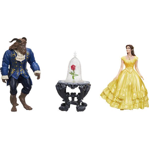 Набор мини-кукол Бэлль, Чудовище и роза, Принцессы ДиснейФигурки из мультфильмов<br>В фильме заколдованные объекты направляют Красавицу и чудовище к раскрытию своего прошлого, настоящего и будущего одновременно. С этими предметами, фигурками Белль и Чудовища девочки могу разыгрывать ключевые сцены из фильма и придумывать свои собственные истории. В набор входят кукла, платье, чудовище, столик, ваза для розы, книга и зеркало.<br><br>Ширина мм: 277<br>Глубина мм: 251<br>Высота мм: 68<br>Вес г: 305<br>Возраст от месяцев: 36<br>Возраст до месяцев: 84<br>Пол: Женский<br>Возраст: Детский<br>SKU: 5225695
