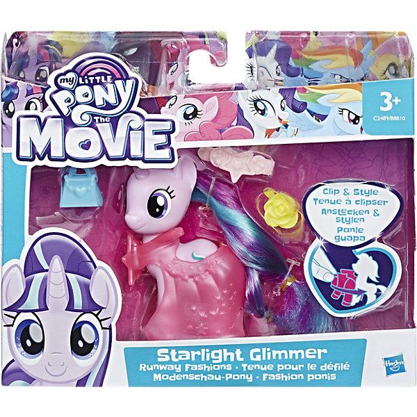 Пони-модницы, My little Pony, в ассортименте, HasbroФигурки из мультфильмов<br>Пони-подружки собираются на бал. В наборе с каждой пони праздничный наряд и три аксессуара, чтобы дополнить образ.<br><br>Ширина мм: 178<br>Глубина мм: 155<br>Высота мм: 50<br>Вес г: 109<br>Возраст от месяцев: 36<br>Возраст до месяцев: 84<br>Пол: Женский<br>Возраст: Детский<br>SKU: 5225712