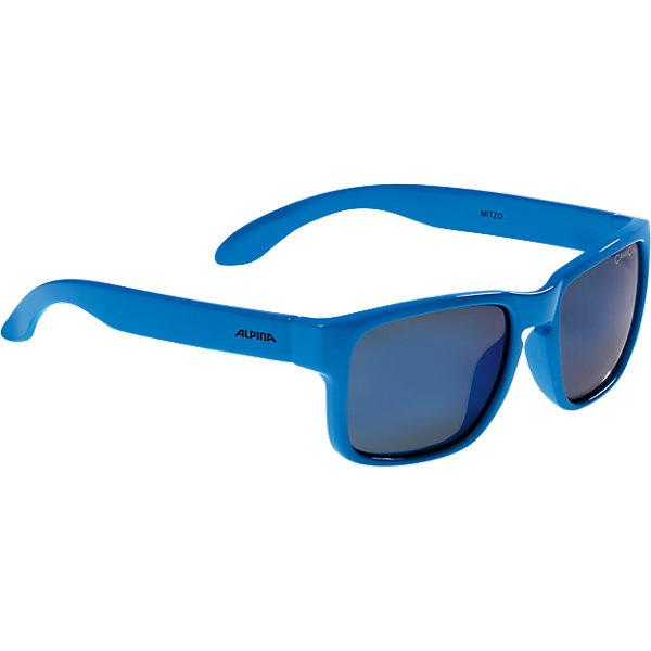 Очки солнцезащитные MITZO, голубые, ALPINAАксессуары для путешествий<br>Характеристики:<br><br>• возраст: от 6 лет;<br>• материал: пластик;<br>• размер упаковки: 19х3х3 см;<br>• вес упаковки: 200 гр.;<br>• страна производитель: Китай.<br><br>Очки солнцезащитные Alpina Mitzo голубые защищают глаза от попадания солнечных лучей во время прогулки, отдыха на природе, катания на велосипеде. Благодаря керамической линзе они обеспечивают надежную защиту от всех типов УФ излучения. <br><br>Очки солнцезащитные Alpina Mitzo голубые можно приобрести в нашем интернет-магазине.<br>Ширина мм: 175; Глубина мм: 83; Высота мм: 40; Вес г: 34; Цвет: синий; Возраст от месяцев: 72; Возраст до месяцев: 120; Пол: Мужской; Возраст: Детский; SKU: 5225721;