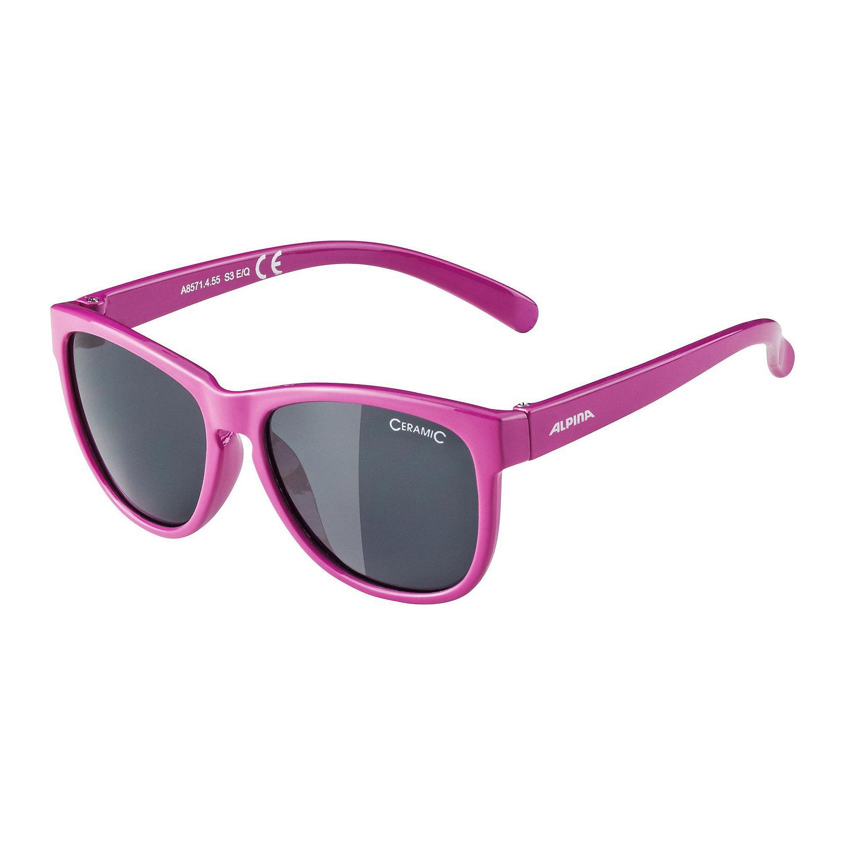 Очки солнцезащитные LUZY, фиолетовые, ALPINAСолнцезащитные очки<br>Характеристики:<br><br>• возраст: от 6 лет;<br>• материал: пластик;<br>• размер упаковки: 19х3х3 см;<br>• вес упаковки: 200 гр.;<br>• страна производитель: Китай.<br><br>Очки солнцезащитные Alpina Luzy фиолетовые защищают глаза от попадания солнечных лучей во время прогулки, отдыха на природе, катания на велосипеде. Благодаря керамической линзе они обеспечивают надежную защиту от всех типов УФ излучения. <br><br>Очки солнцезащитные Alpina Luzy фиолетовые можно приобрести в нашем интернет-магазине.<br><br>Ширина мм: 135<br>Глубина мм: 95<br>Высота мм: 40<br>Вес г: 32<br>Цвет: лиловый<br>Возраст от месяцев: 72<br>Возраст до месяцев: 120<br>Пол: Женский<br>Возраст: Детский<br>SKU: 5225740