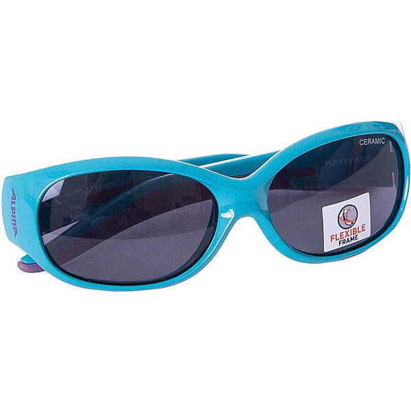 Очки солнцезащитные FLEXXY KIDS, ALPINAСолнцезащитные очки<br>Характеристики:<br><br>• возраст: от 4 лет;<br>• материал: пластик;<br>• размер упаковки: 19х3х3 см;<br>• вес упаковки: 200 гр.;<br>• страна производитель: Китай.<br><br>Очки солнцезащитные Alpina Flexxy Kids защищают глаза от попадания солнечных лучей во время прогулки, отдыха на природе, катания на велосипеде, занятий спортом. Линзы выполнены из прочного материала, устойчивого к разбиванию. Они защищают глаза от всех типов УФ-лучей и не запотевают.<br><br>Очки солнцезащитные Alpina Flexxy Kids можно приобрести в нашем интернет-магазине.<br>Ширина мм: 133; Глубина мм: 85; Высота мм: 40; Вес г: 37; Цвет: бирюзовый; Возраст от месяцев: 24; Возраст до месяцев: 60; Пол: Женский; Возраст: Детский; SKU: 5225746;
