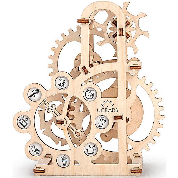 Силомер, UGEARSДеревянные конструкторы<br>Интересный сувенир, или своеобразная рулетка. Подув на верхнюю шестеренку, вы увидите, как вся система приводится в движение. Стрелочка, перескакивающая от одной пиктограммы к другой, покажет, что вам предстоит сделать соответственно вашей силе. Одна из самых простых моделей для сборки. <br>Модель для самостоятельной сборки без клея.<br><br>Размеры модели: 147*72*170мм<br>Размер упаковки: 37*14*3см<br>Количество деталей: 48<br>Расчетное время сборки: 1-2 часа<br><br>Ширина мм: 375<br>Глубина мм: 140<br>Высота мм: 30<br>Вес г: 325<br>Возраст от месяцев: 168<br>Возраст до месяцев: 192<br>Пол: Унисекс<br>Возраст: Детский<br>SKU: 5226400