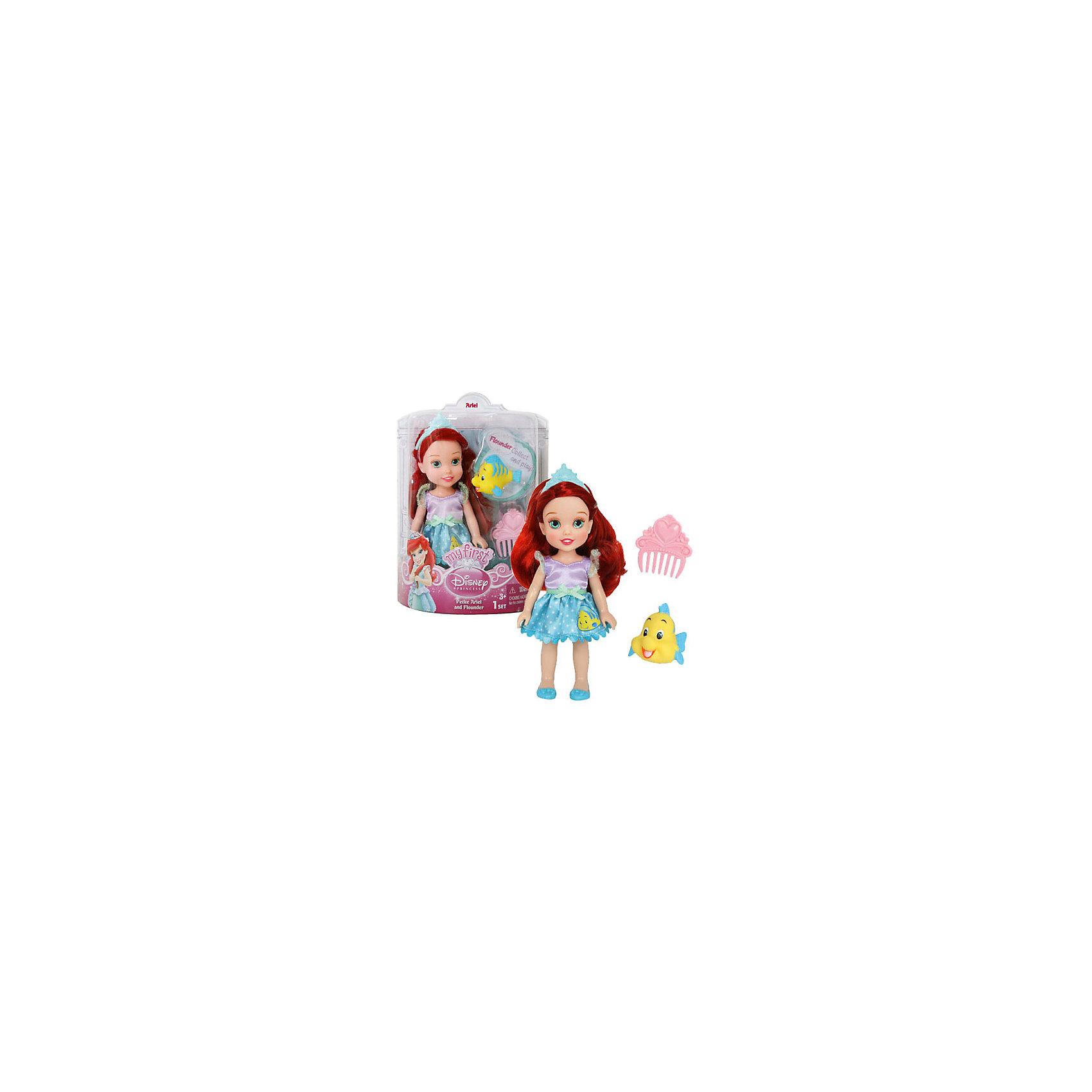 - Кукла Ариэль, 7,5 см, Принцессы Дисней кукла золушка 7 5 см принцессы дисней