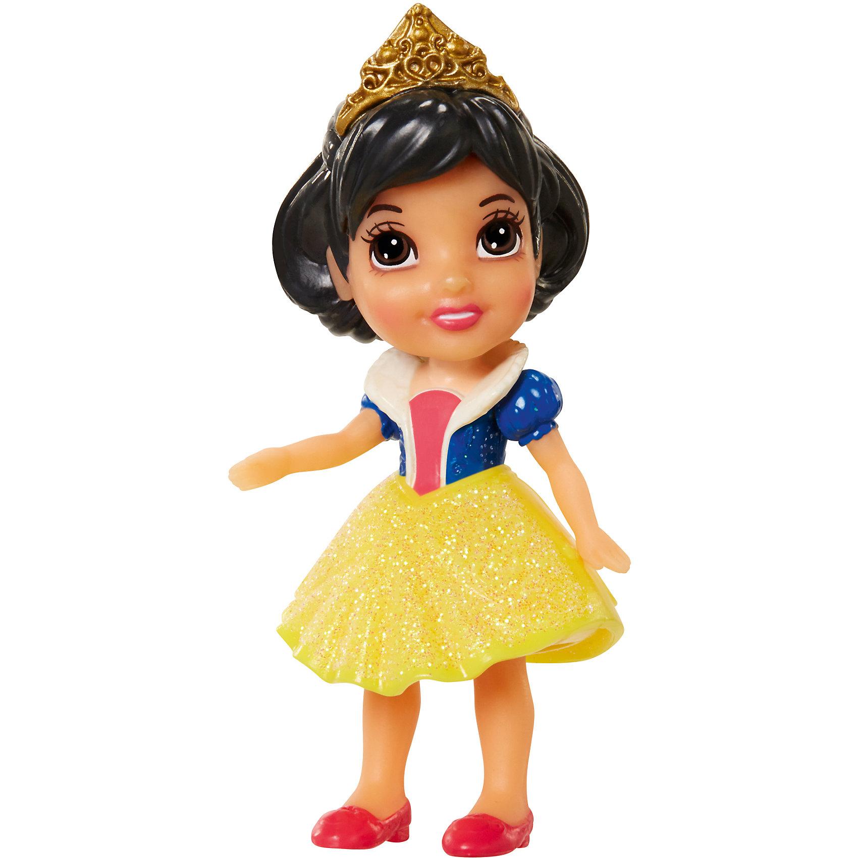 - Кукла Белоснежка, 7,5 см, Принцессы Дисней карапуз кукла рапунцель со светящимся амулетом 37 см со звуком принцессы дисней карапуз