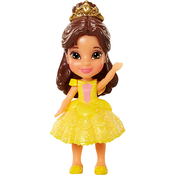 Мини-кукла Принцесса Диснея малышка - Белль, 7.5 смКуклы<br>Характеристики товара:<br><br>• высота : 7,5 см<br>• размер упаковки: 11,5х5х4,5 см<br>• материал: пластик<br>• отличная детализация<br>• возраст: от трех лет<br>• комплектация: 1 кукла<br>• подвижные части тела: голова, руки и ноги<br><br>Игрушка в виде любимого героя - желанный подарок для малыша! Такая кукла сделана в виде маленькой принцессы из мультфильма Диснея - а их современные девочки просто обожают. Кукла очень качественно выполнена, благодаря подвижным деталям с ней можно придумать множество игр! Из таких кукол получится отличная коллекция!<br>Игра с куклами помогает девочкам развивать важные социальные навыки и способности, она активизирует мышление, формирует умение заботиться о других, логику, мелкую моторику и воображение, помогает проработать сценарии взаимодействия с людьми. Изделие производится из качественных сертифицированных материалов, безопасных даже для самых маленьких.<br><br>Куклу Белль, 7,5 см, Принцессы Дисней, можно купить в нашем интернет-магазине.<br><br>Ширина мм: 50<br>Глубина мм: 110<br>Высота мм: 55<br>Вес г: 68<br>Возраст от месяцев: 36<br>Возраст до месяцев: 2147483647<br>Пол: Женский<br>Возраст: Детский<br>SKU: 5227289