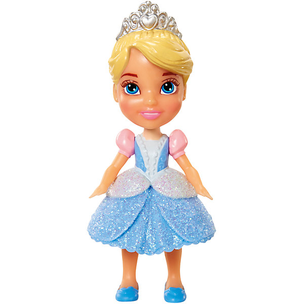 Мини-кукла Принцесса Диснея малышка - Золушка, 7.5 смКуклы<br>Характеристики товара:<br><br>• высота : 7,5 см<br>• размер упаковки: 11,5х5х4,5 см<br>• материал: пластик<br>• отличная детализация<br>• возраст: от трех лет<br>• комплектация: 1 кукла<br>• подвижные части тела: голова, руки и ноги<br><br>Игрушка в виде любимого героя - желанный подарок для малыша! Такая кукла сделана в виде маленькой принцессы из мультфильма Диснея - а их современные девочки просто обожают. Кукла очень качественно выполнена, благодаря подвижным деталям с ней можно придумать множество игр! Из таких кукол получится отличная коллекция!<br>Игра с куклами помогает девочкам развивать важные социальные навыки и способности, она активизирует мышление, формирует умение заботиться о других, логику, мелкую моторику и воображение, помогает проработать сценарии взаимодействия с людьми. Изделие производится из качественных сертифицированных материалов, безопасных даже для самых маленьких.<br><br>Куклу Золушка, 7,5 см, Принцессы Дисней, можно купить в нашем интернет-магазине.<br><br>Ширина мм: 50<br>Глубина мм: 110<br>Высота мм: 55<br>Вес г: 68<br>Возраст от месяцев: 36<br>Возраст до месяцев: 2147483647<br>Пол: Женский<br>Возраст: Детский<br>SKU: 5227293