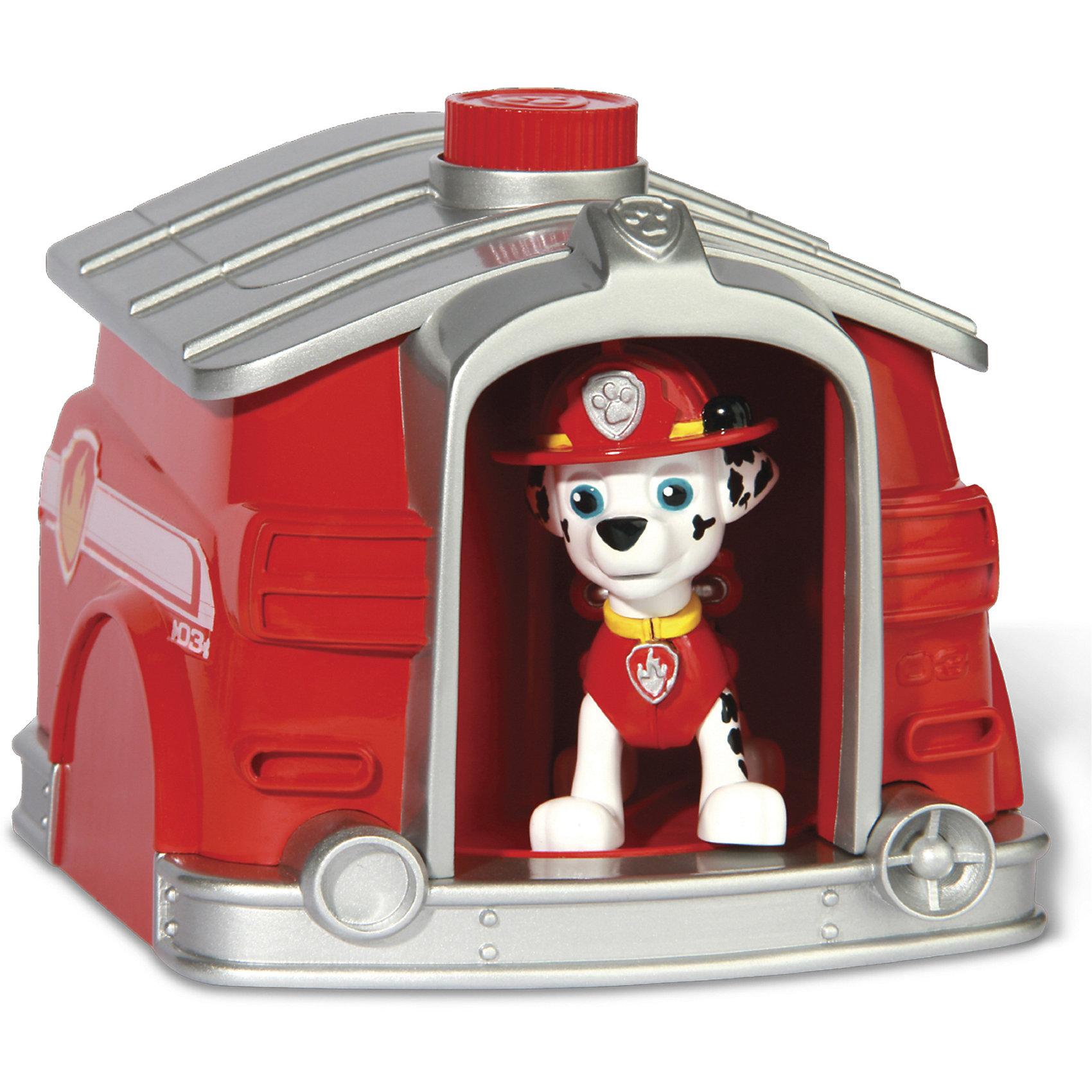 Два щенка в домике Щенячий патруль - МаршалХарактеристики товара:<br><br>• механизм для переодевания щенка<br>• размер упаковки: 27х26х14 см<br>• материал: пластик<br>• возраст: от трех лет<br>• комплектация: 2 щенка, домик, инструкция<br>• упаковка: картон<br><br>Игрушка в виде любимого героя - желанный подарок для малыша! Такая симпатичная игрушка с сюрпризом сделана в виде героя мультика Щенячий патруль - а его современные дети просто обожают. Также в наборе идет домик для щенка, в который героя можно посадить, нажать кнопку - и он мгновенно переоденется! Игрушка очень качественно выполнена, с ней можно придумать множество игр.<br>Взаимодействие с такими игрушками помогает детям развивать важные социальные навыки и способности, она активизирует мышление, логику, мелкую моторику и воображение. Изделие производится из качественных сертифицированных материалов, безопасных даже для самых маленьких.<br><br>Игровой набор Два щенка в домике, Маршал, Щенячий патруль, можно купить в нашем интернет-магазине.<br><br>Ширина мм: 270<br>Глубина мм: 260<br>Высота мм: 140<br>Вес г: 675<br>Возраст от месяцев: 36<br>Возраст до месяцев: 2147483647<br>Пол: Мужской<br>Возраст: Детский<br>SKU: 5227294