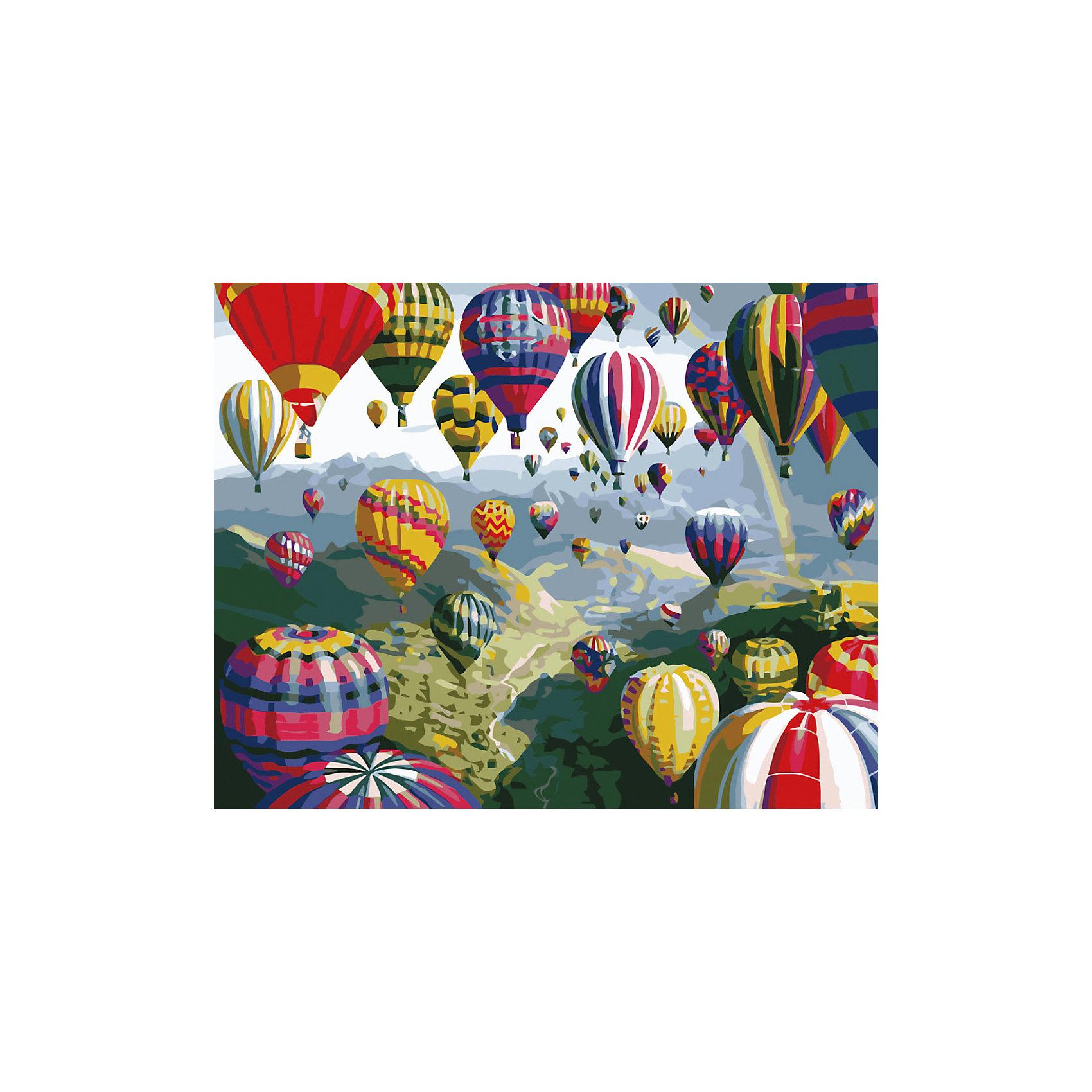 Роспись по номерам Воздушные шары 40*50 смПоследняя цена<br>Характеристики товара:<br><br>• комплектация: холст, карта рисунка, краски, кисти, инструкция<br>• размер упаковки: 42х52х3 см<br>• размер холста: 40х50 см<br>• не требует специальных навыков<br>• страна бренда: Российская Федерация<br>• страна производства: Китай<br><br>Набор для раскрашивания по номерам - это отличный подарок для ребенка! В комплекте есть всё необходимое для самостоятельного создания шедевра: холст, краски, кисти и инструкция. Акриловые краски не нужно смешивать - каждый номер баночки соответствует номеру нужного оттенка на холсте. Нарисовать картину сможет даже человек, никогда раньше не рисовавший! Готовое полотно и может стать украшением интерьера или подарком для близких.<br>Комплектующие набора качественно выполнены, сделаны из безопасных для детей материалов. Рисование помогает детям лучше развить мелкую моторику, память, внимание, аккуратность и мышление. Такой набор - отличный подарок ребенку, но он сможет увлечь даже взрослого!<br><br>Роспись по номерам Воздушные шары 40*50 см от бренда TUKZAR можно купить в нашем интернет-магазине.<br><br>Ширина мм: 420<br>Глубина мм: 520<br>Высота мм: 50<br>Вес г: 900<br>Возраст от месяцев: 36<br>Возраст до месяцев: 2147483647<br>Пол: Унисекс<br>Возраст: Детский<br>SKU: 5227699