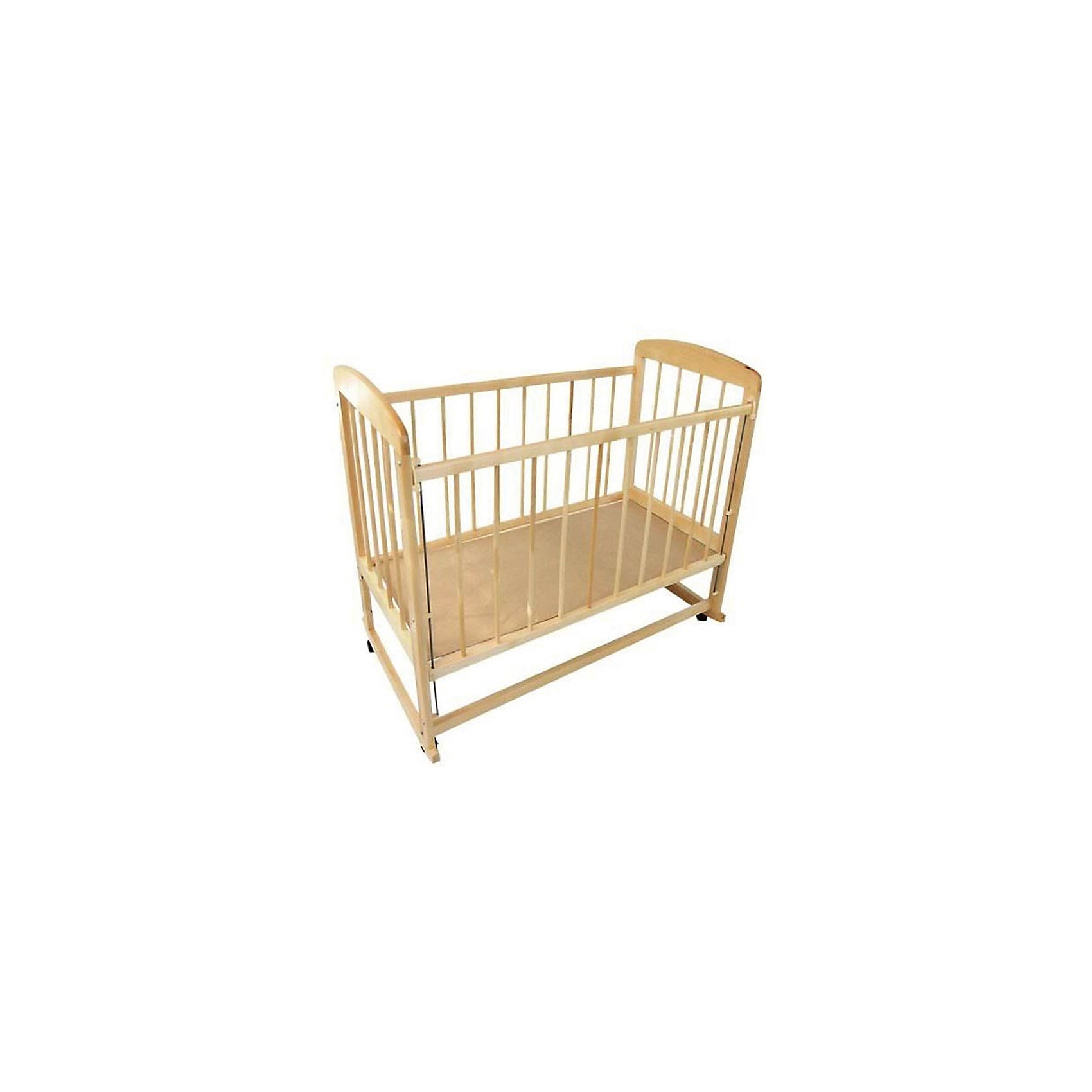 - Кроватка-качалка Мишутка 12, светлая обычная кроватка уренская мебельная фабрика мишутка 12 темная