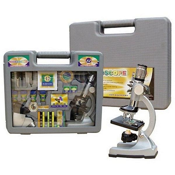 Набор с микроскопом Юный ученый (60 предметов)Микроскопы<br>Характеристики товара:<br><br>• цвет: серый<br>• материал: металл, пластик, стекло<br>• размер упаковки: 42х34х10 см<br>• комплектация: 60 предметов (три объектива, прожектор, светофильтры и др.)<br>• упаковка:чемоданчик<br>• вес: 2300 г<br>• работает от батареек<br>• возраст: от пяти лет<br><br>Такой набор поможет привить ребенку любовь к знаниям и сделать учебу легче. Работа с микроскопом даст возможность ребенку получить представление о строении многих предметов. В комплекте идет микроскоп и предметы для подготовки объектов к изучению. Также в наборе есть объективы различной мощности сфетофильтры.<br>Изделие произведено из качественных и безопасных для ребенка материалов. Работа с таким набором помогает развить мышление ребенка, аккуратность, внимательность, мелкую моторику и воображение. Полезный и развивающий подарок!<br><br>Набор с микроскопом Юный ученый (60 предметов) можно купить в нашем интернет-магазине.<br><br>Ширина мм: 420<br>Глубина мм: 340<br>Высота мм: 100<br>Вес г: 2300<br>Возраст от месяцев: 60<br>Возраст до месяцев: 144<br>Пол: Унисекс<br>Возраст: Детский<br>SKU: 5230497