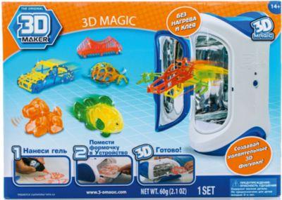 Spin Master Набор 3D Magic для создания объемных моделей 3D Maker