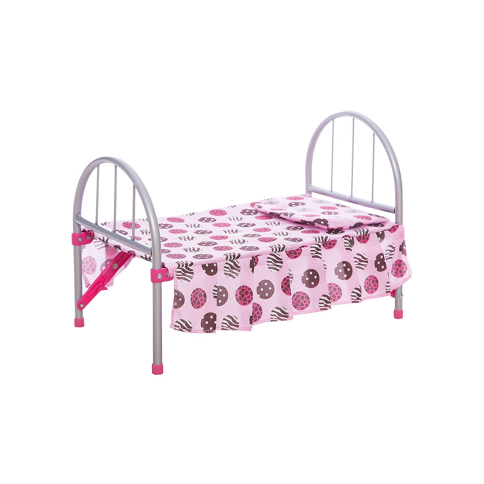 Кровать для кукол, Melobo<br><br>Ширина мм: 460<br>Глубина мм: 270<br>Высота мм: 100<br>Вес г: 900<br>Возраст от месяцев: 12<br>Возраст до месяцев: 60<br>Пол: Унисекс<br>Возраст: Детский<br>SKU: 5234880