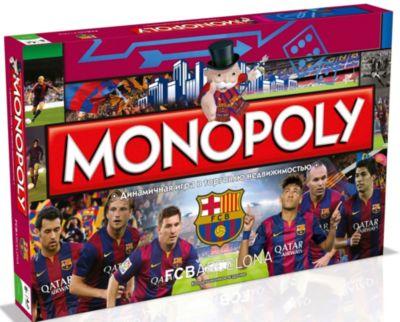Hasbro Настольная игра Монополия ФК Барселона