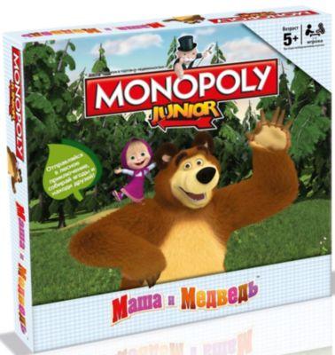 Hasbro Настольная Игра Монополия Маша И Медведь