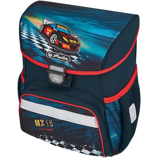Ранец Herlitz LOOP PLUS Super Racer, с наполнениемРанцы<br>Ранец LOOP PLUS Super Racer с наполнением<br> - пенал с наполнением 16 предметов<br>- пенал-косметичка<br>- мешок для обуви<br>Описание:<br>размер 37х31х24см <br>-полиэстер<br>- замок-защелка легко открывается и закрывается благодаря специальному клапану,<br>- 2 внутренних отделения<br>- расписание уроков под крышкой ранца<br>- передний наружный карман на  «молнии»<br>- водоотталкивающая ткань<br>- светоотражатели 3M на переднем кармане, боковых карманах и лямках<br>- прочное пластиковое  дно защищающие от загрязнения<br>- 2 боковых  кармана на резиночке<br>- эргономичная спинка и уплотненные регулируемые лямки из вентилируемого материала.<br>вес менее 1000 гр                                                                                                 вмещает А4                                                                                                  лямки настраиваются  под  рост  ребенка<br><br>Ширина мм: 433<br>Глубина мм: 352<br>Высота мм: 248<br>Вес г: 1252<br>Возраст от месяцев: 72<br>Возраст до месяцев: 108<br>Пол: Мужской<br>Возраст: Детский<br>SKU: 5242530