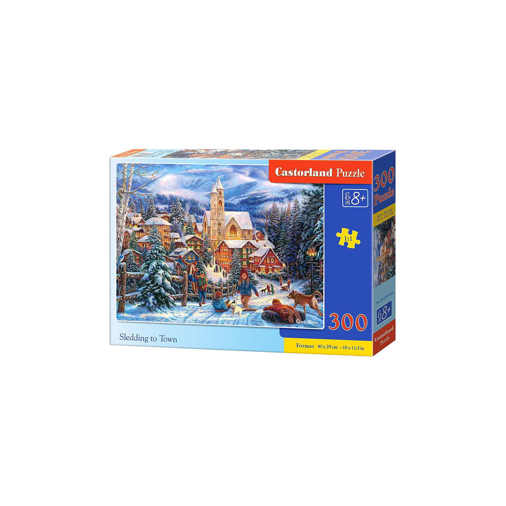 Пазл Снежная горка в городе, 300 деталей, CastorlandКоличество деталей<br>Пазл Снежная горка в городе, 300 деталей, Castorland, (Касторленд)<br><br>Характеристики:<br><br>• яркие цвета<br>• привлекательная картинка<br>• количество деталей: 300<br>• размер пазла: 40х29 см<br>• размер упаковки: 32,5х22,5х5 см<br>• вес: 305 грамм<br>• материал: картон<br><br>Пазлы от Касторленд помогут развить логическое мышление, пространственное ориентирование и мелкую моторику ребенка. Пазлы изготовлены из плотного картона. Детали хорошо соединяются и устойчивы к повреждениям и выцветанию. Готовая картинка с изображением веселого катания с горки порадует вашего малыша!<br><br>Пазл Снежная горка в городе, 300 деталей, Castorland, (Касторленд) можно купить в нашем интернет-магазине.<br><br>Ширина мм: 320<br>Глубина мм: 47<br>Высота мм: 220<br>Вес г: 300<br>Возраст от месяцев: 84<br>Возраст до месяцев: 2147483647<br>Пол: Унисекс<br>Возраст: Детский<br>SKU: 5244651