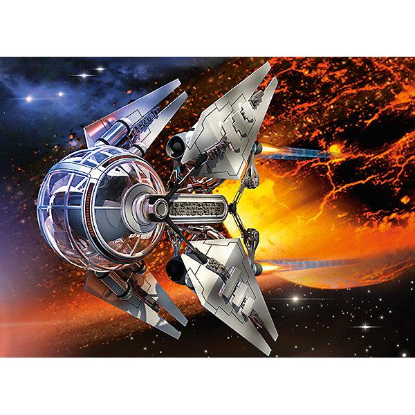 Пазл Космический аппарат, 300 деталей, CastorlandПазлы классические<br>Пазл Космический аппарат, 300 деталей, Castorland, (Касторленд)<br><br>Характеристики:<br><br>• яркие цвета<br>• привлекательная картинка<br>• количество деталей: 300<br>• размер пазла: 40х29 см<br>• размер упаковки: 32,5х22,5х5 см<br>• вес: 305 грамм<br>• материал: картон<br><br>Пазлы от Касторленд помогут развить логическое мышление, пространственное ориентирование и мелкую моторику ребенка. Пазлы изготовлены из плотного картона. Детали хорошо соединяются и устойчивы к повреждениям и выцветанию. Готовая картинка с изображением необычного космического аппарата приятно впечатлит любителей космических кораблей!<br><br>Пазл Космический аппарат, 300 деталей, Castorland, (Касторленд) можно купить в нашем интернет-магазине.<br>Ширина мм: 320; Глубина мм: 47; Высота мм: 220; Вес г: 300; Возраст от месяцев: 84; Возраст до месяцев: 2147483647; Пол: Мужской; Возраст: Детский; SKU: 5244652;