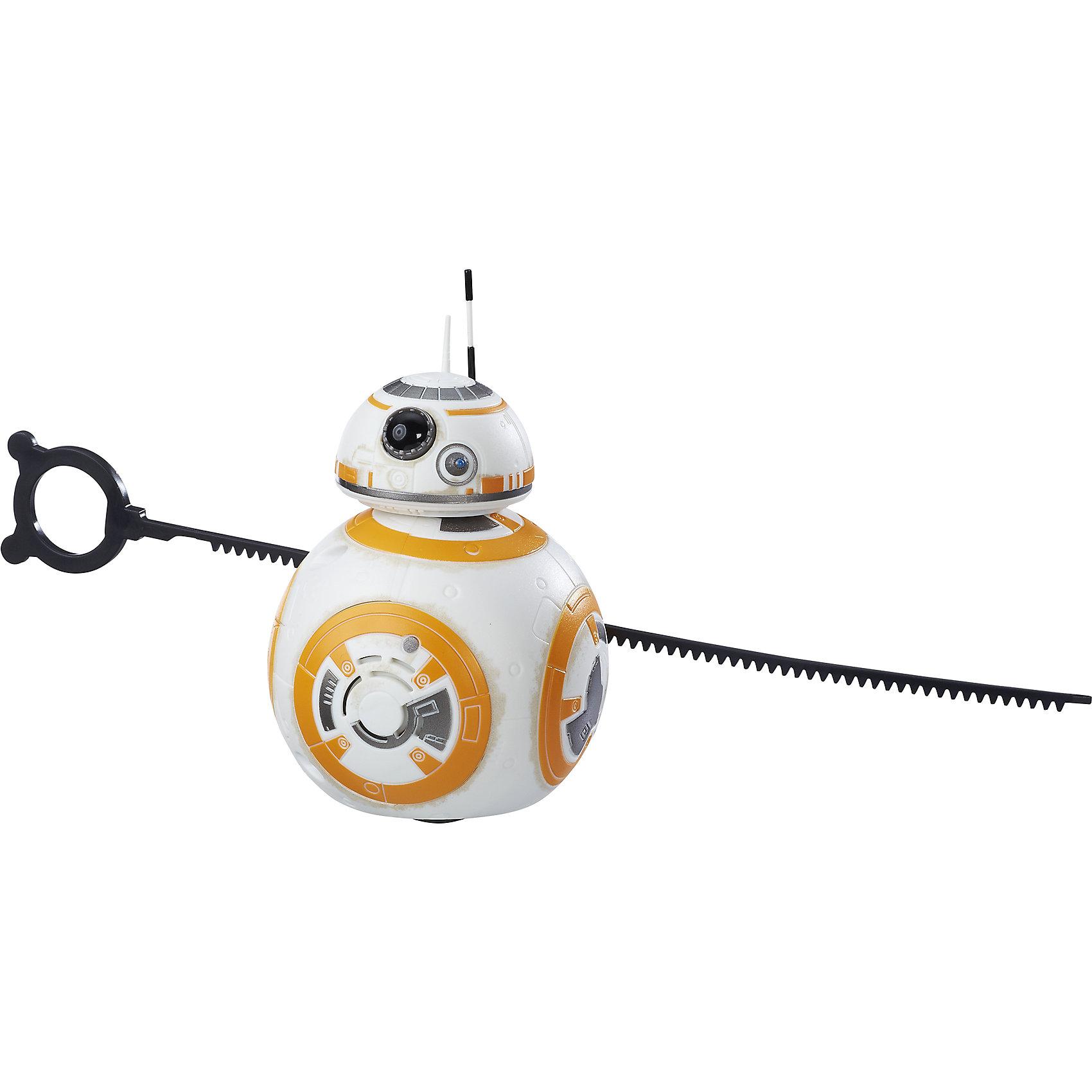 Мобильный дроид Звездных ВойнХарактеристики Звездные Войны мобильного дроида:<br><br>- рекомендуемый возраст: 6-8 лет, 9-12 лет, более 12 лет<br>- пол: для мальчиков<br>- бренд : star wars (hasbro)<br>- размер упаковки: 0.150 * 0.009 * 0.150 см.<br><br>Star Wars Мобильный дроид – очень классная игрушка, созданная по мотивам 7-ого эпизода фильма Звездные войны! Она представляет одного из персонажей киноленты - робота-дроида BB-8. Он выполнен очень реалистично, тщательно проработан и выглядит в точности также,  как в фильме. Кроме того, дроид функционален: он оснащен звуковыми эффектами, а также его можно приводить в движение при помощи вытяжного троса, который прилагается в комплекте.<br><br>Игрушка выполнена из высококачественных материалов, прочных и долговечных, выглядит очень ярко и эффектно. Такой дроид станет отличным подарком не только для ребенка, но и взрослого поклонника вселенной Star Wars. Дроид работает от 2 батареек типа ААА (не входят в комплект, приобретаются отдельно).<br><br>Звездные Войны Мобильный дроид можно купить в нашем интернет-магазине.<br><br>Ширина мм: 89<br>Глубина мм: 140<br>Высота мм: 191<br>Вес г: 376<br>Возраст от месяцев: 48<br>Возраст до месяцев: 144<br>Пол: Мужской<br>Возраст: Детский<br>SKU: 5245122