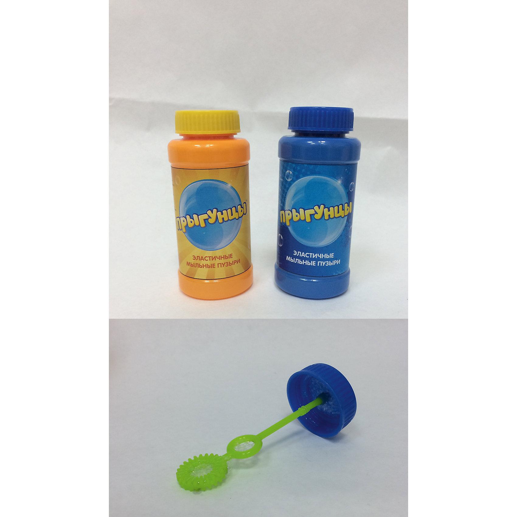 Прыгунцы, эластичные мыльные пузыри, бутылка 100мл., 1toy