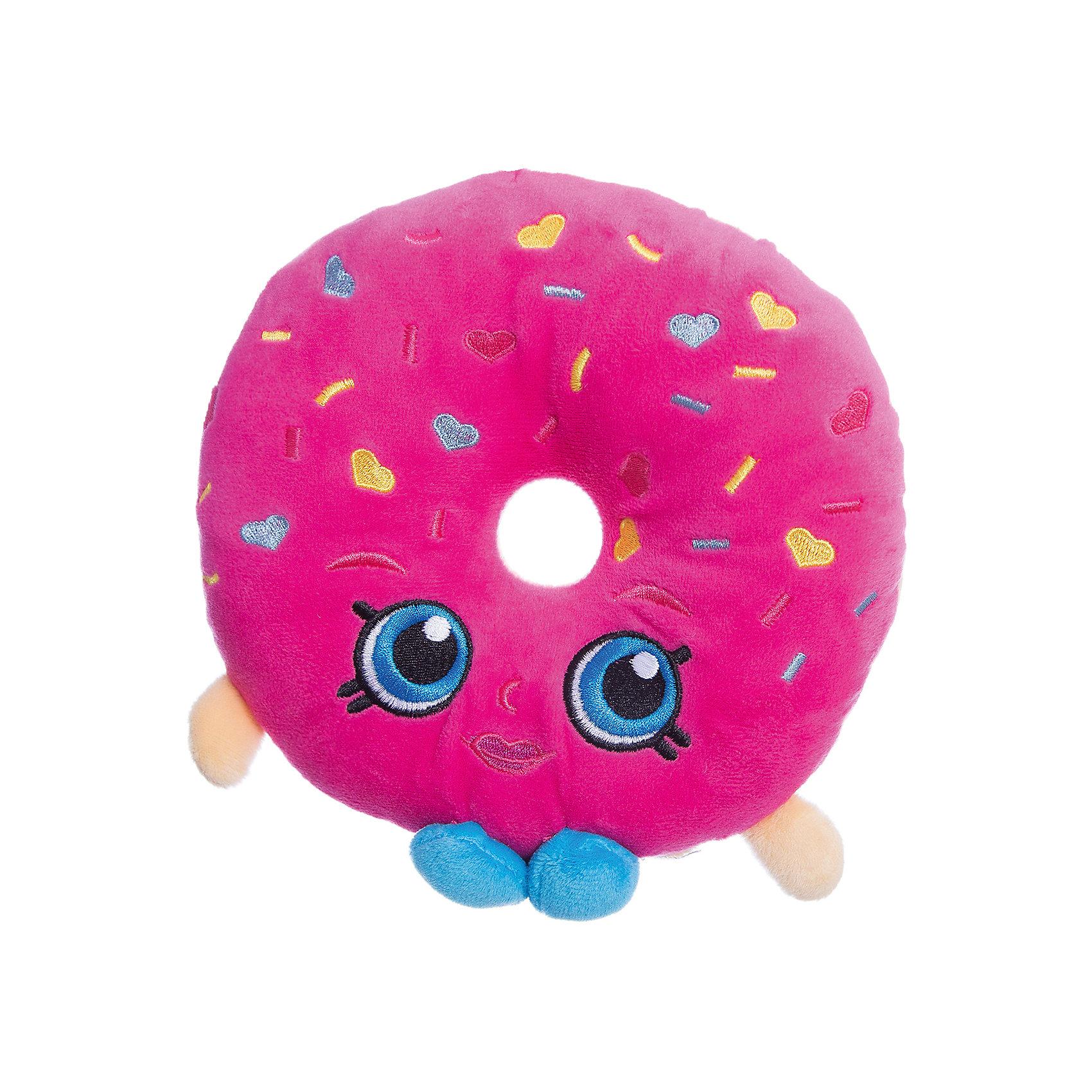 Мягкая игрушка Пончик Делиш, 20см, ShopkinsShopkins<br>Характеристики:<br><br>• размер игрушки: 20 см;<br>• материал: плюш;<br>• наполнитель: синтепон;<br>• декоративные элементы: вышивка;<br>• упаковка: ПВХ-пакет.<br><br>Плюшевая коллекционная игрушка Шопкинс создана по мотивам мультсериала для детей. Пончик Делиш с огромными голубыми глазами, личико - вышивка-аппликация, тельце мягконабивное. В процессе игры развивается воображение, речь, тактильное восприятие.<br><br>Мягкую игрушку Пончик Делиш, 20см, Shopkins можно купить в нашем магазине.<br><br>Ширина мм: 185<br>Глубина мм: 180<br>Высота мм: 50<br>Вес г: 90<br>Возраст от месяцев: 36<br>Возраст до месяцев: 2147483647<br>Пол: Женский<br>Возраст: Детский<br>SKU: 5247684