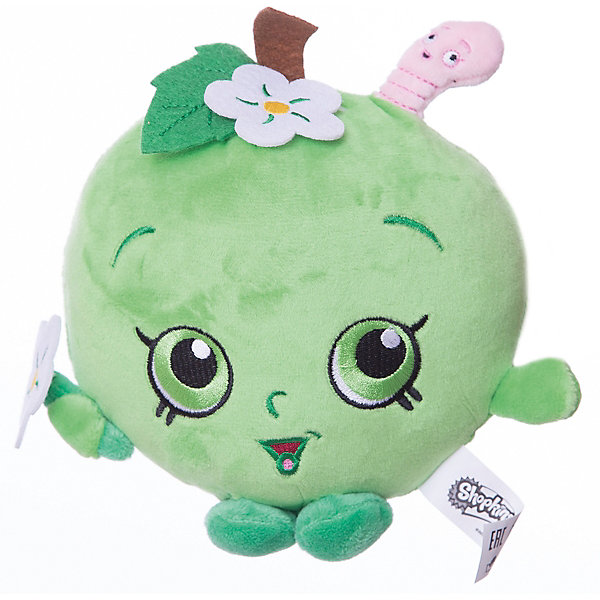Мягкая игрушка Яблочко Фло, 20см, ShopkinsМягкие игрушки из мультфильмов<br>Характеристики:<br><br>• размер игрушки: 20 см;<br>• материал: плюш;<br>• наполнитель: синтепон;<br>• декоративные элементы: вышивка;<br>• упаковка: ПВХ-пакет.<br><br>Плюшевая коллекционная игрушка Шопкинс создана по мотивам мультсериала для детей. Яблочко Фло с ручками и ножками - персонаж Shopkins. Личико игрушки - вышивка-аппликация, тельце мягконабивное, мягкая игрушка приятная на ощупь. В процессе игры развивается воображение, речь, тактильное восприятие.<br><br>Мягкую игрушку Яблочко Фло, 20см, Shopkins можно купить в нашем магазине.<br><br>Ширина мм: 155<br>Глубина мм: 155<br>Высота мм: 70<br>Вес г: 80<br>Возраст от месяцев: 36<br>Возраст до месяцев: 2147483647<br>Пол: Унисекс<br>Возраст: Детский<br>SKU: 5247686