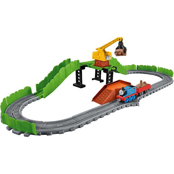 Игровой набор Томас и его друзья Рэг на свалке металлоломаТомас и его друзья Игрушки<br>Характеристики товара:<br><br>• возраст: от 3 лет<br>• материал: пластик;<br>• размер паровозика с вагоном: 14 см<br>• размер упаковки: 31X25X7 см;<br>• в наборе: паровозик Томас, кран Рэдж, вагон, груз и платформа погрузчика.<br>• страна бренда: США<br>• страна изготовоитель: Китай<br><br>Томас и его вагон катятся по рельсам вдоль свалки в поисках металлолома. Его неугомонный приятель Рэдж вертится вокруг, чтобы помочь Томасу погрузить металлолом и вернуться на Содор. <br><br>Куски металлолома идеально помещаются в клешню Рэджа. Он тоже может сбрасывать груз с горки и быстро доставлять прямо на трассу. Соединив вместе куски металлолома, вы получите фантастического «Монстра свалки»!<br><br>Игровой набор Томас и его друзья «Рэг на свалке металлолома» можно купить в нашем интернет-магазине.<br><br>Ширина мм: 313<br>Глубина мм: 243<br>Высота мм: 71<br>Вес г: 555<br>Возраст от месяцев: 36<br>Возраст до месяцев: 60<br>Пол: Унисекс<br>Возраст: Детский<br>SKU: 5248100