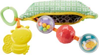 Mattel Плюшевая игрушка-погремушка Горошек , Fisher Price фото-1