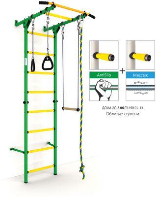 ROMANA Шведская лестница Карусель S1 , зеленый-желтый