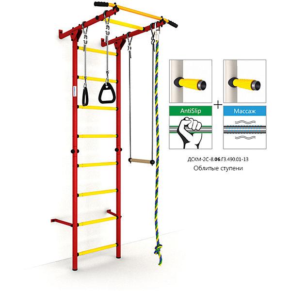 Шведская лестница Карусель S1, красный-желтыйШведские стенки<br>Карусель S1 использует внедренную ступень antislip (антискользящая), обеспечивающая более крепкий хват. Микромассажный эффект остальных ступеней помогает развитию общей моторики детей и является профилактикой плоскостопия.<br>Ширина мм: 1160; Глубина мм: 610; Высота мм: 140; Вес г: 23000; Возраст от месяцев: 36; Возраст до месяцев: 192; Пол: Унисекс; Возраст: Детский; SKU: 5251547;