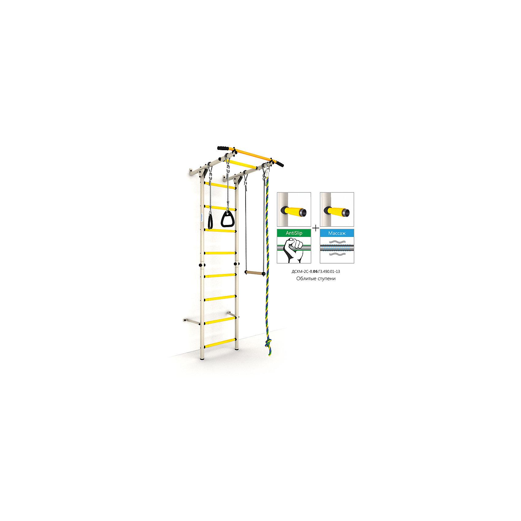 Шведская лестница Карусель S1, белый антик золотоШведские стенки<br>Карусель S1 использует внедренную ступень antislip (антискользящая), обеспечивающая более крепкий хват. Микромассажный эффект остальных ступеней помогает развитию общей моторики детей и является профилактикой плоскостопия.<br><br>Ширина мм: 1160<br>Глубина мм: 610<br>Высота мм: 140<br>Вес г: 18000<br>Возраст от месяцев: 36<br>Возраст до месяцев: 192<br>Пол: Унисекс<br>Возраст: Детский<br>SKU: 5251548